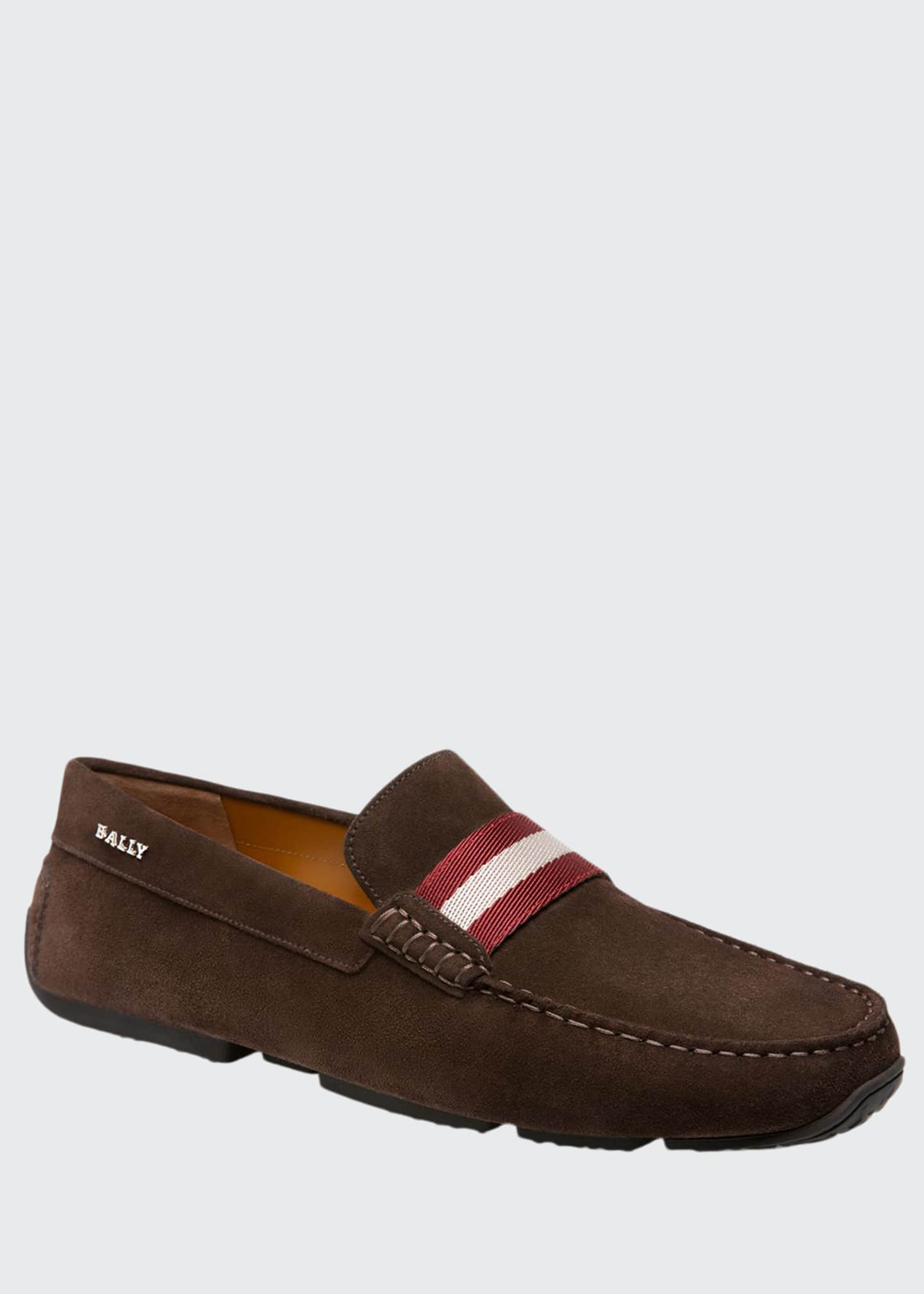 Bally Men's Pearce Calf Suede Drivers