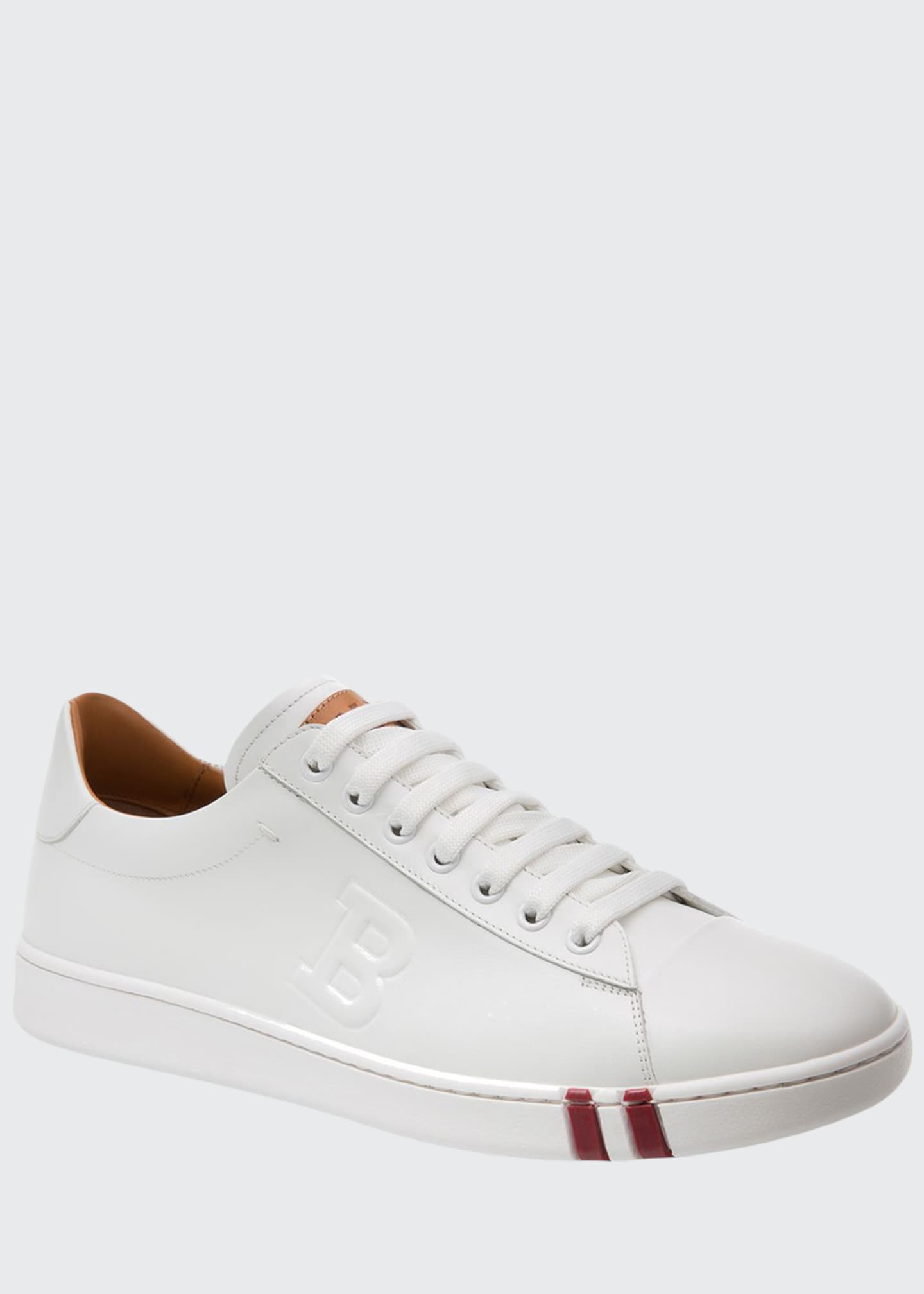 Bally Men's Asher Leather Low-Top Sneakers