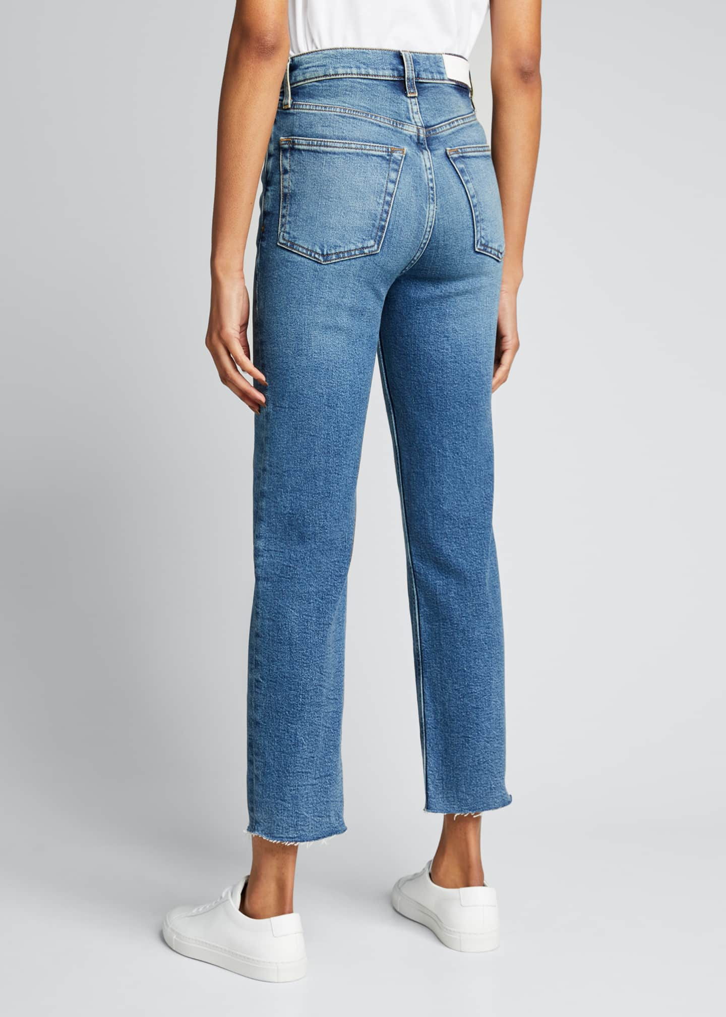 Image 2 of 3: Ultra High-Rise Stovepipe Jeans