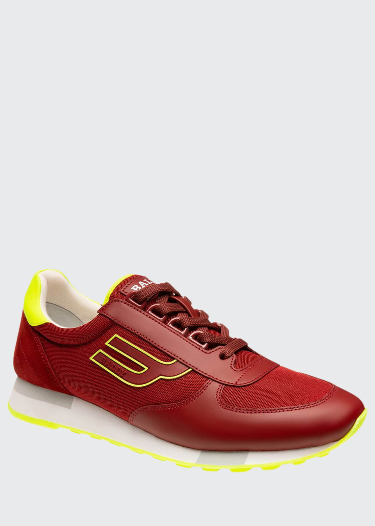 Bally Men's Gavino Tennis Retro Running Sneakers