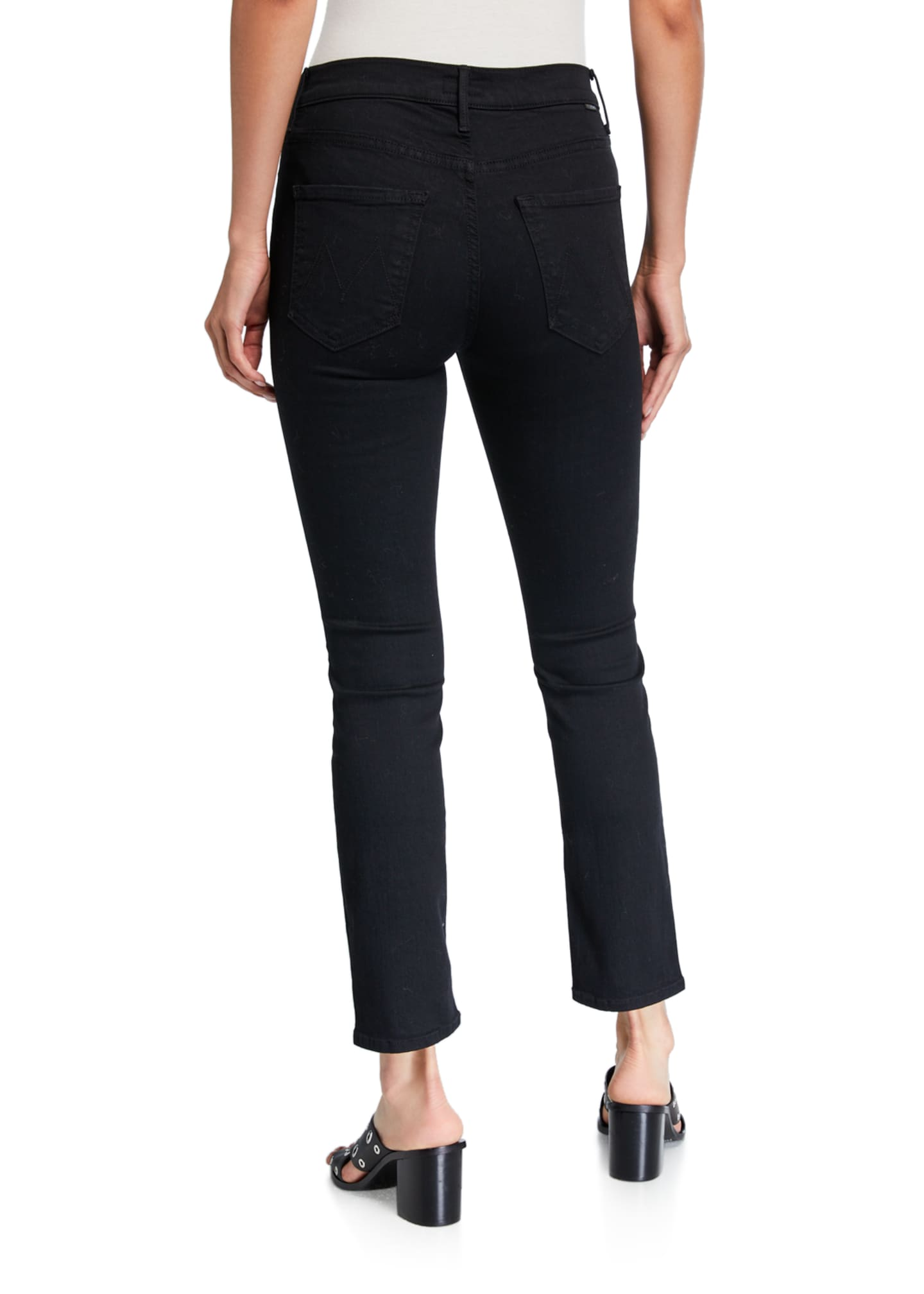 Image 2 of 3: The Mid-Rise Dazzler Ankle Jeans