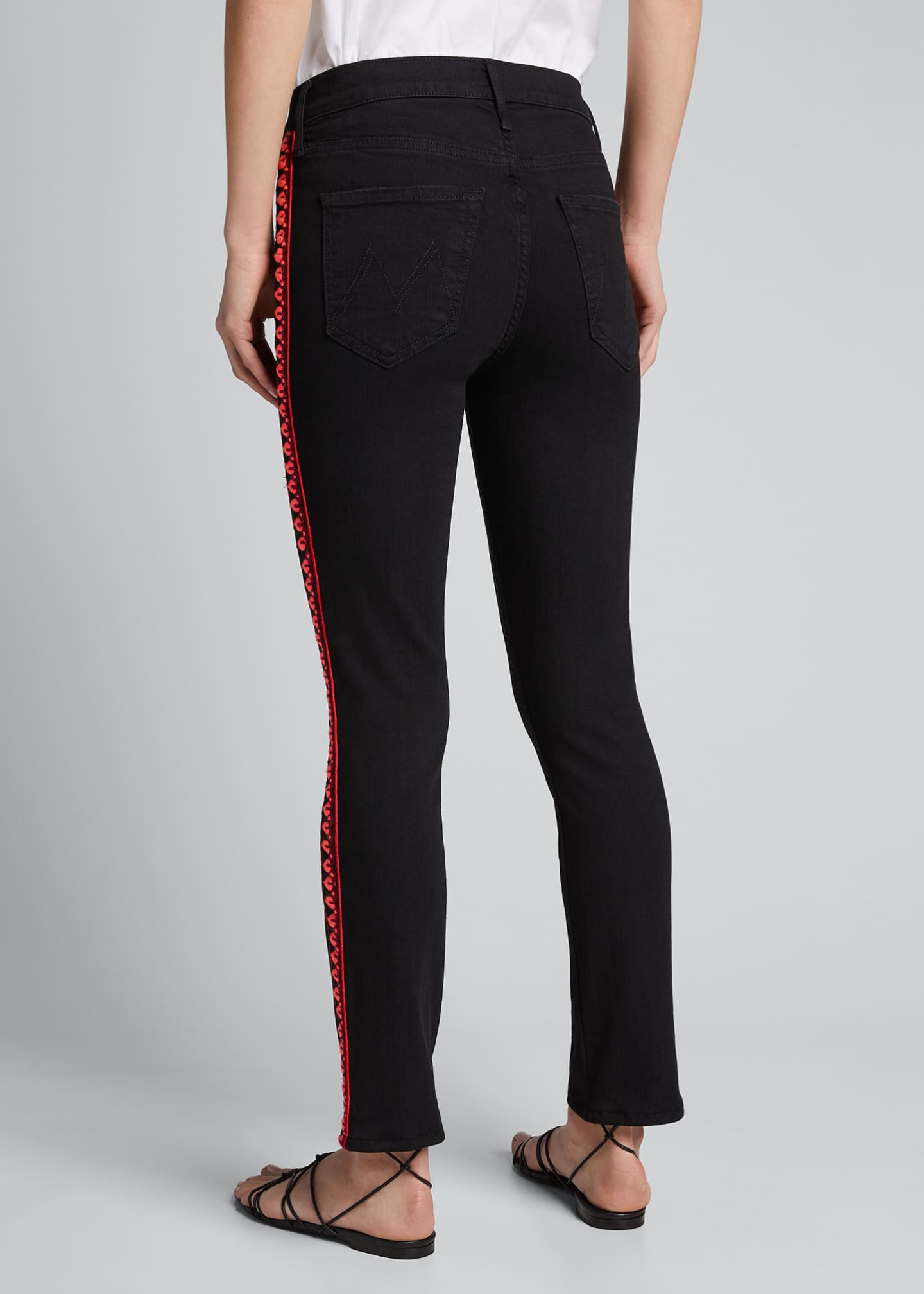 Image 2 of 5: The Mid-Rise Dazzler Ankle Jeans