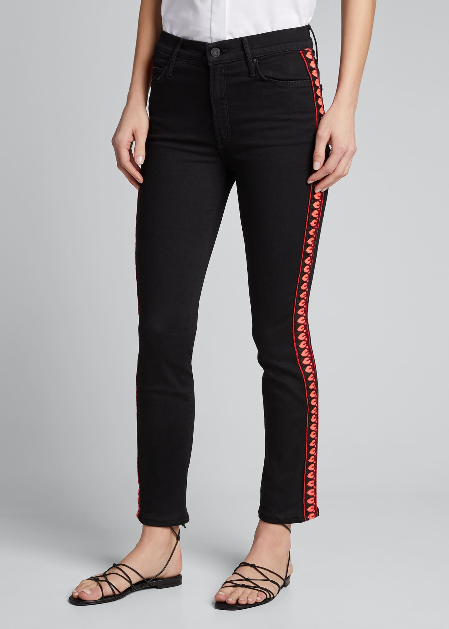 Image 3 of 5: The Mid-Rise Dazzler Ankle Jeans