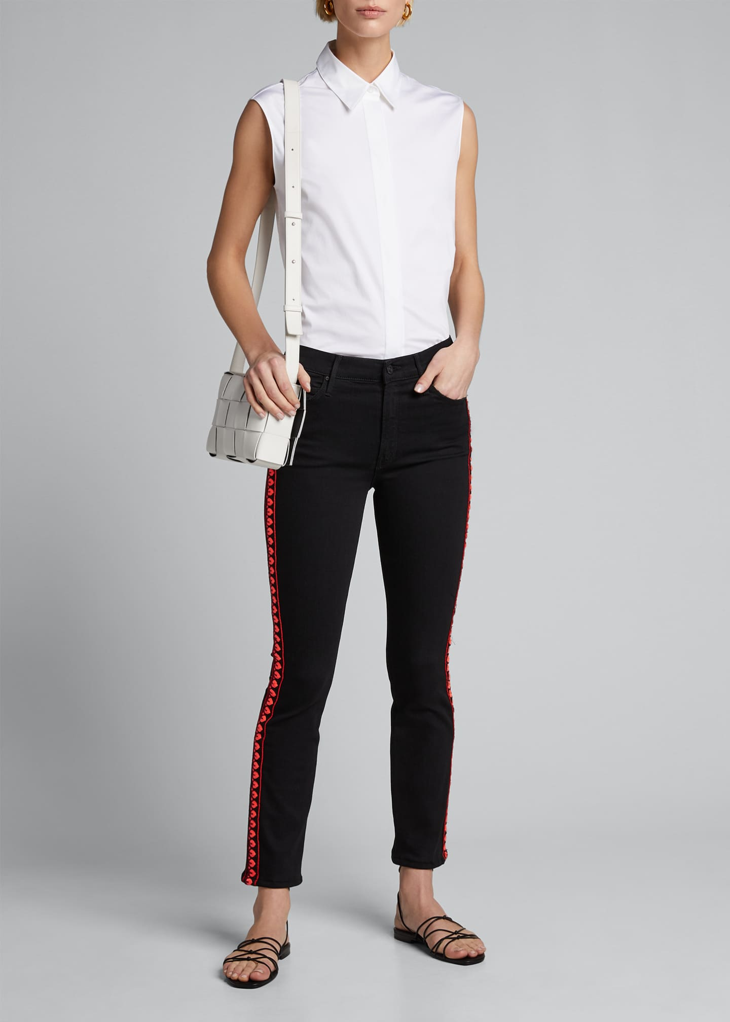 Image 1 of 5: The Mid-Rise Dazzler Ankle Jeans