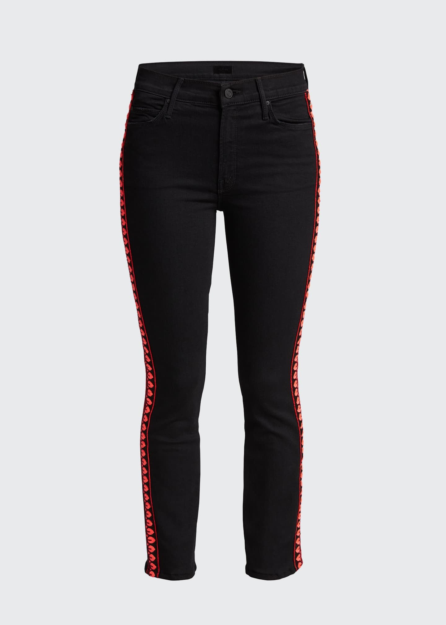 Image 5 of 5: The Mid-Rise Dazzler Ankle Jeans
