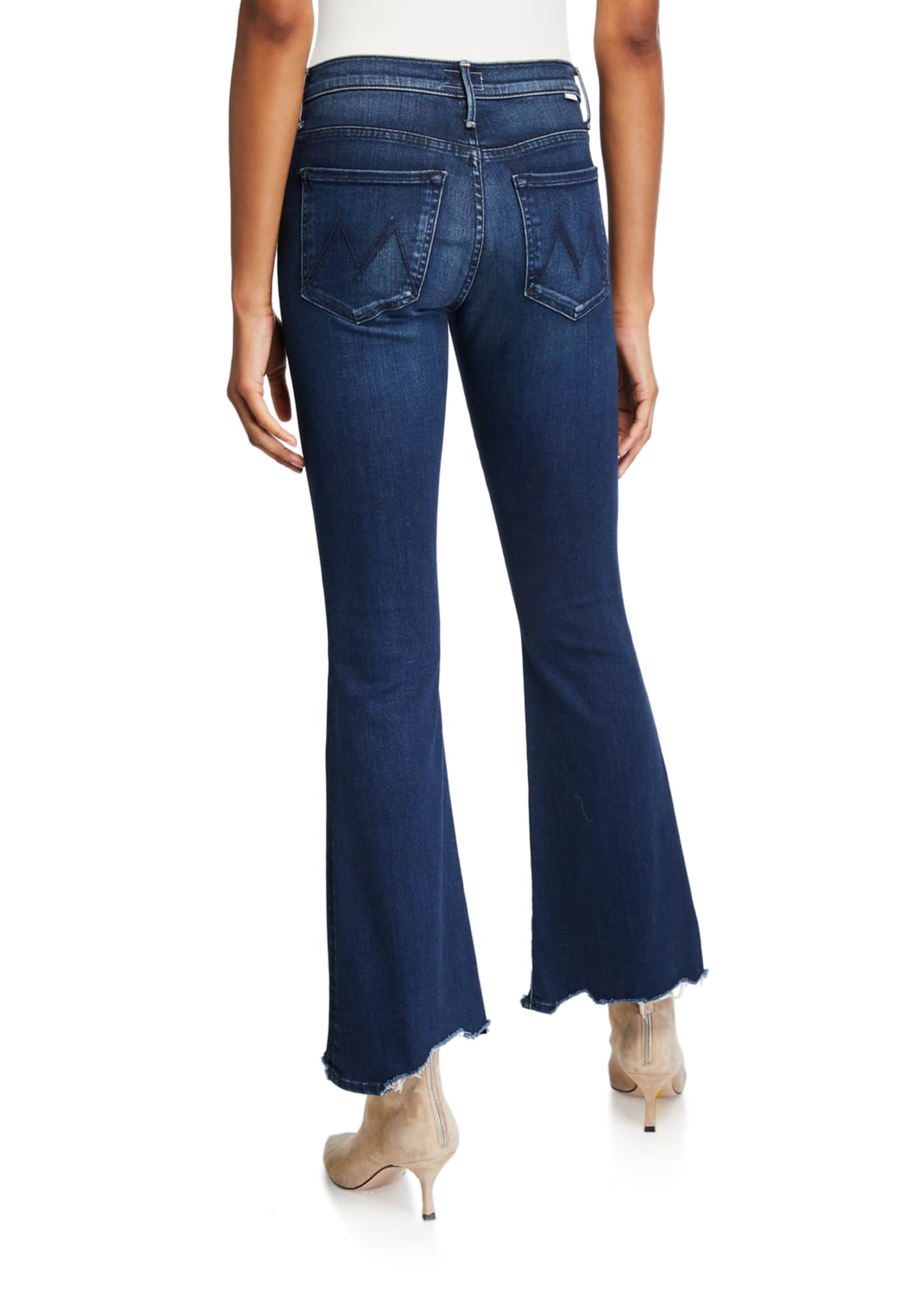 Image 2 of 3: The Weekender Fray Flare-Leg Jeans