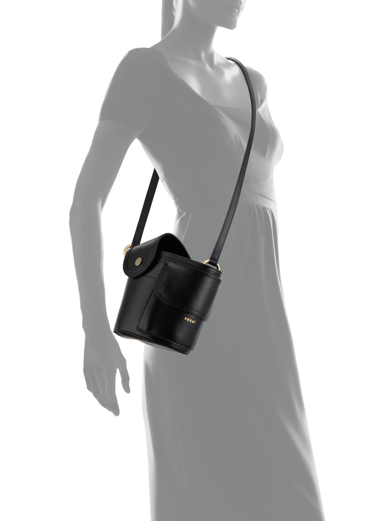 Image 4 of 4: Thermos Leather Bucket Bag