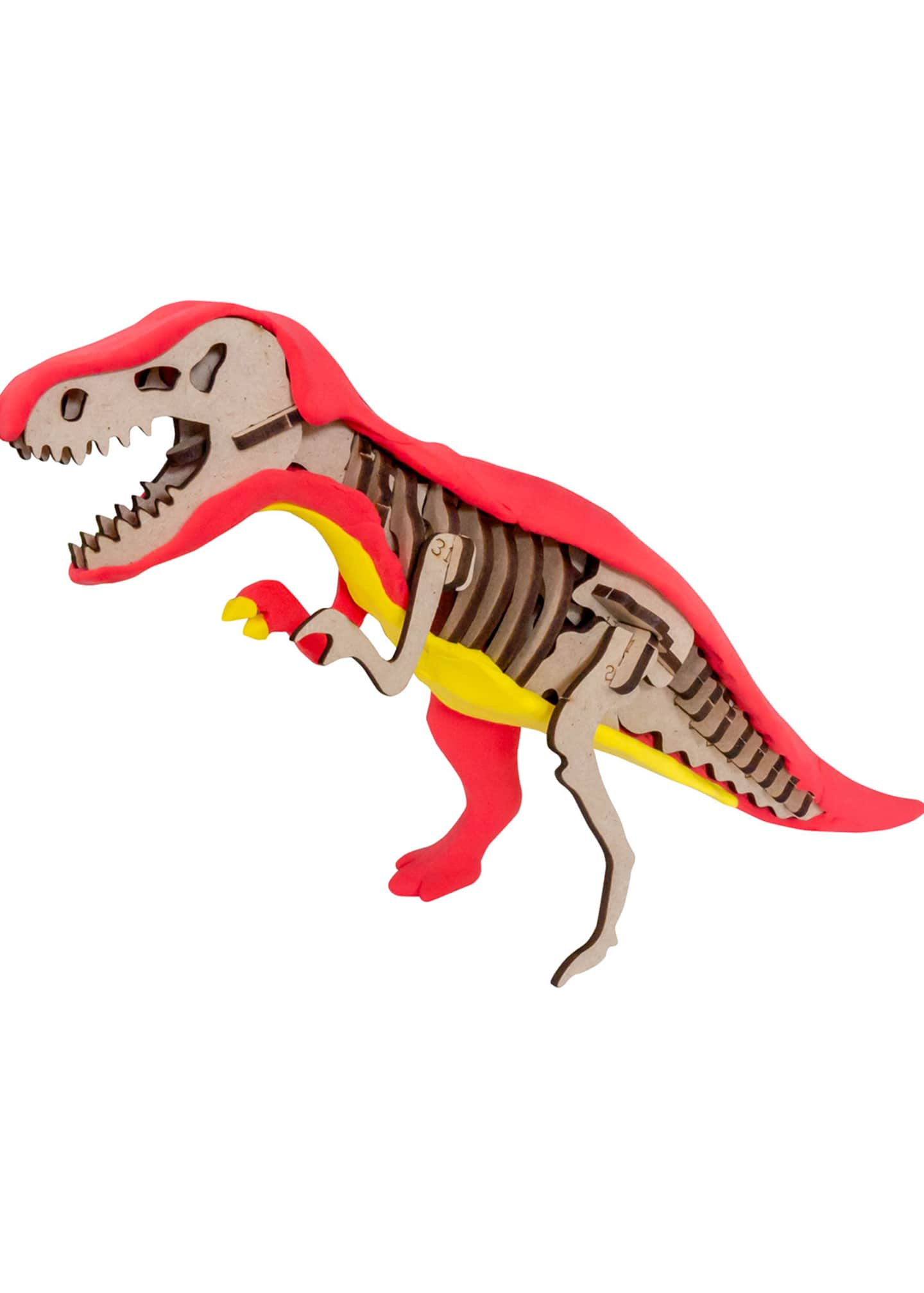 Image 3 of 4: CLAY DECO Dinosaur T-Rex