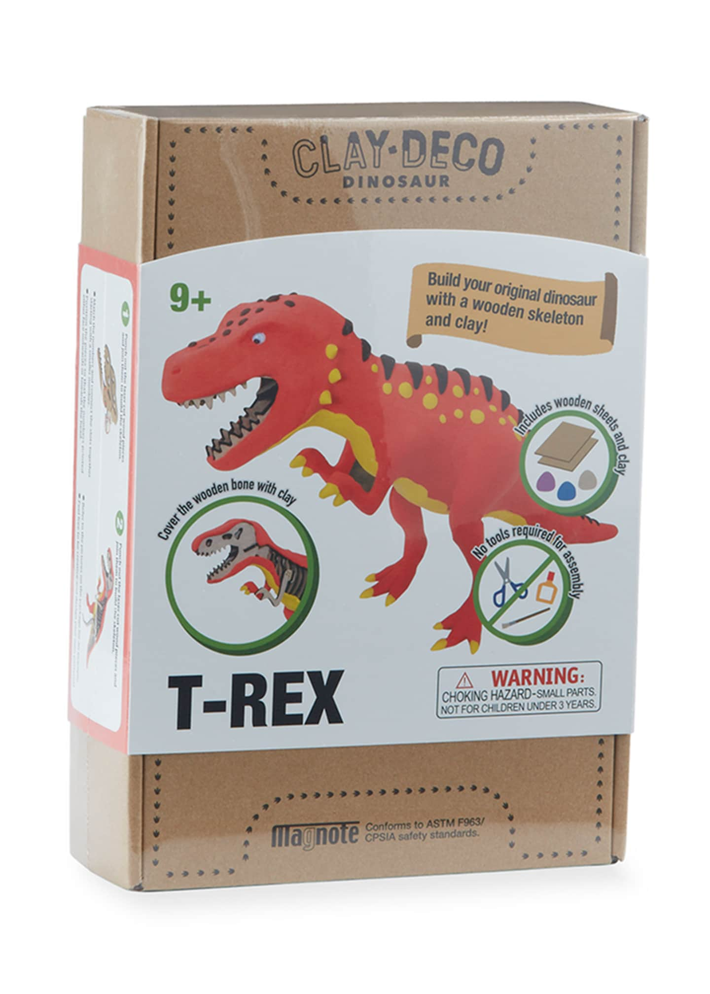 Image 1 of 4: CLAY DECO Dinosaur T-Rex