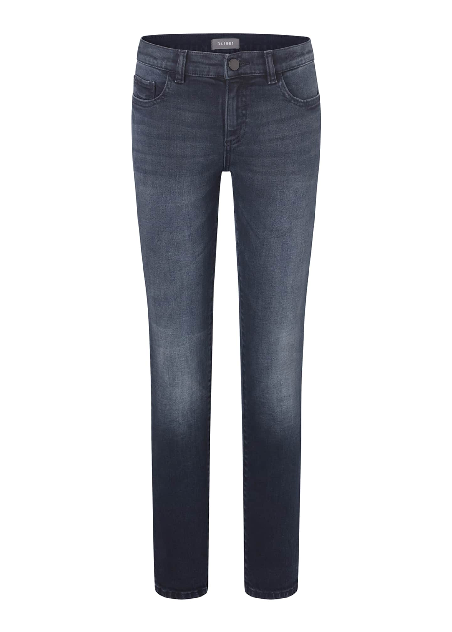 DL 1961 Boys' Zayne Super Skinny Jeans, Size