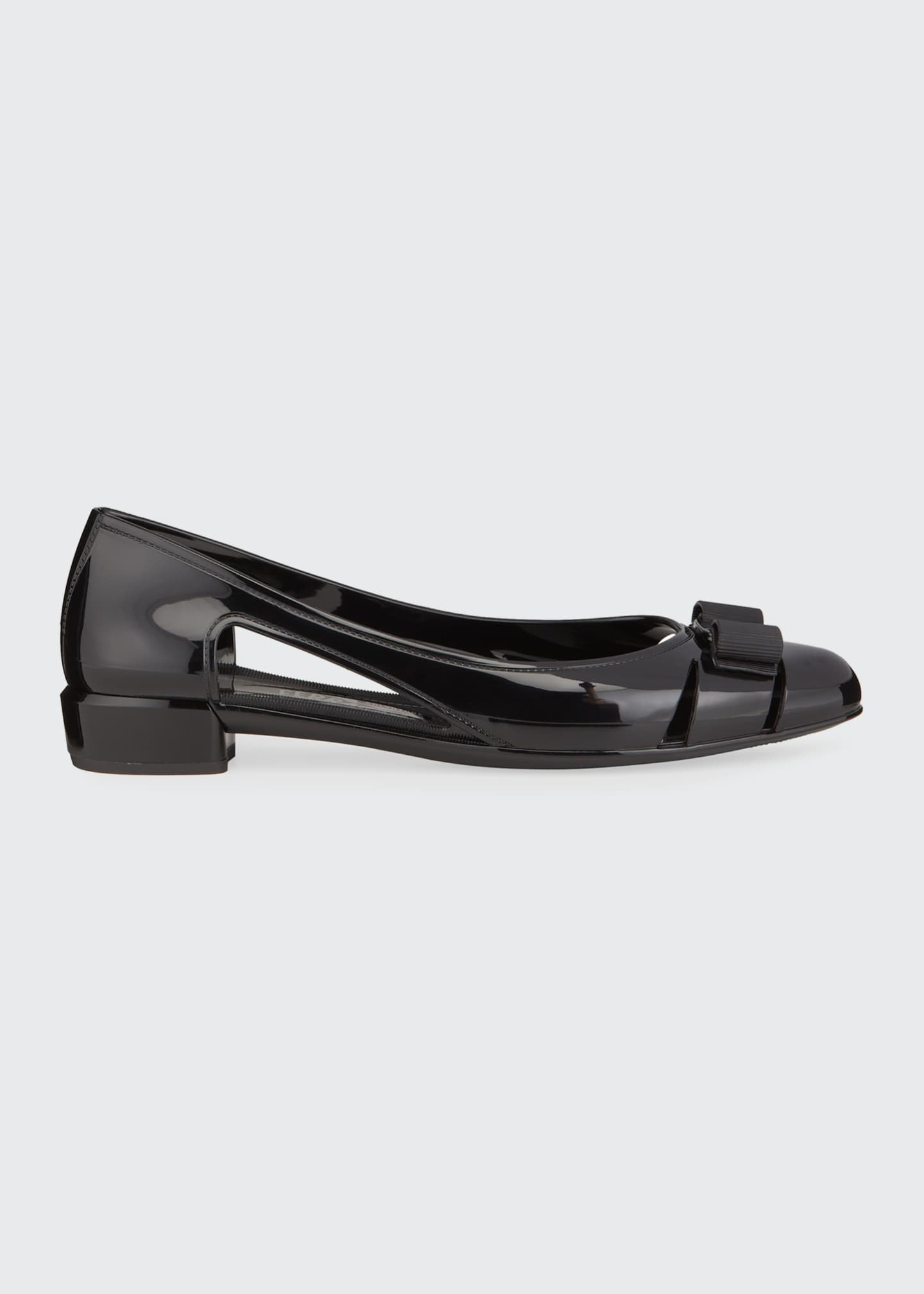Image 1 of 4: Jelly Cutout Vara Bow Flat