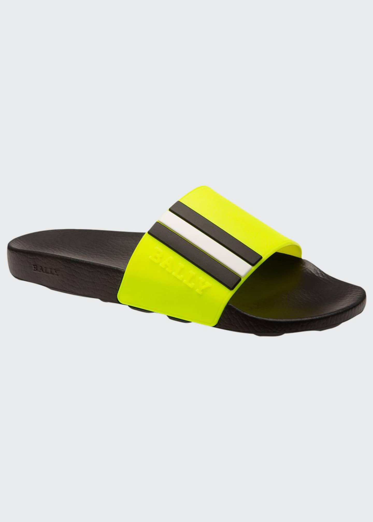 Bally Men's Saxor Rubber Slide Sandals