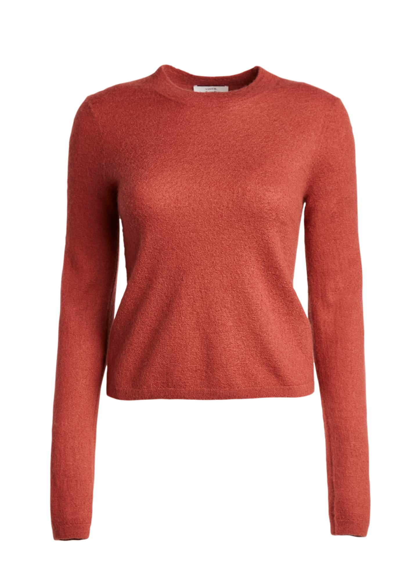 Image 5 of 5: Fitted Crewneck Cashmere Sweater