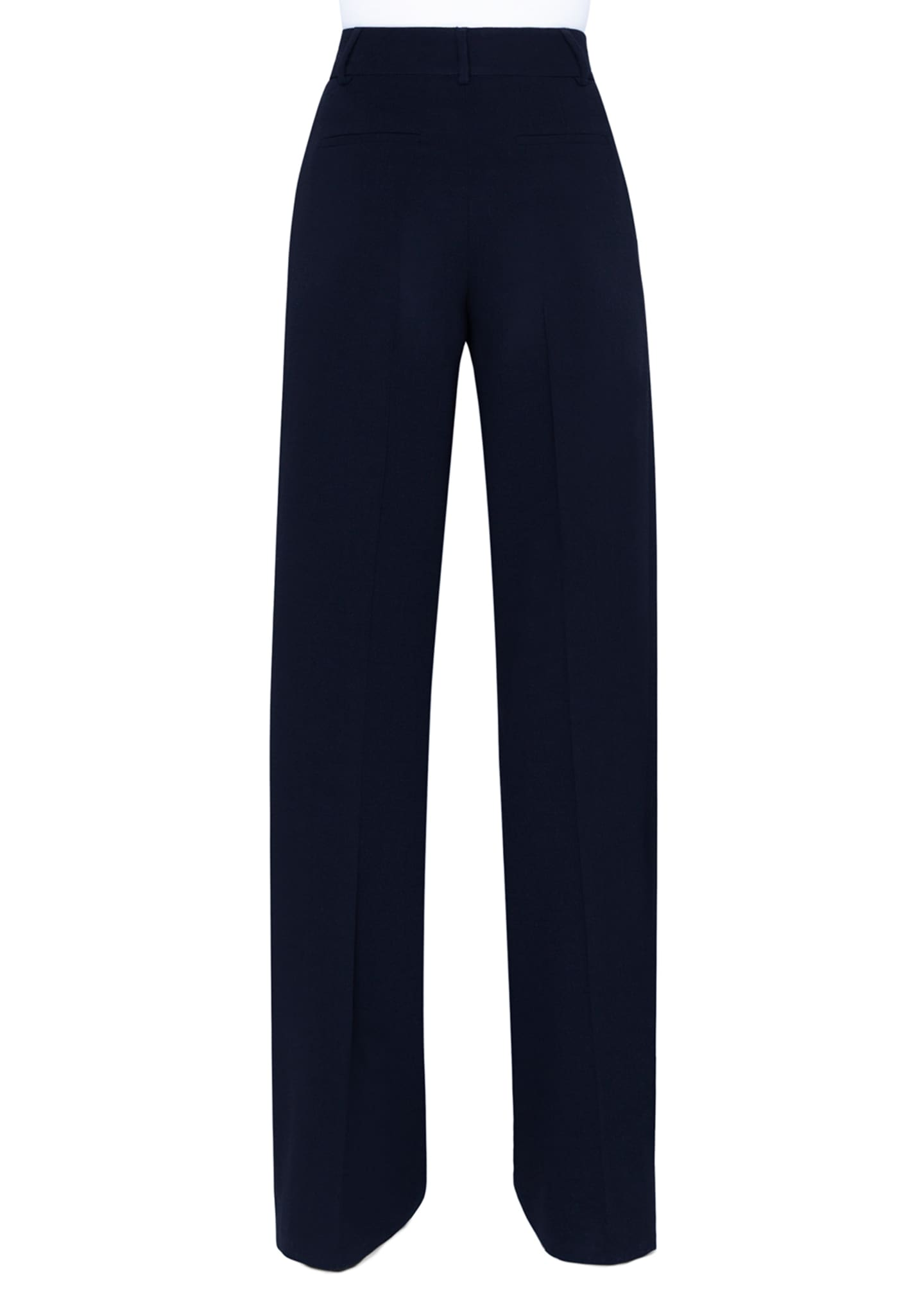 Image 2 of 3: Flore Wool Wide-Leg Pants