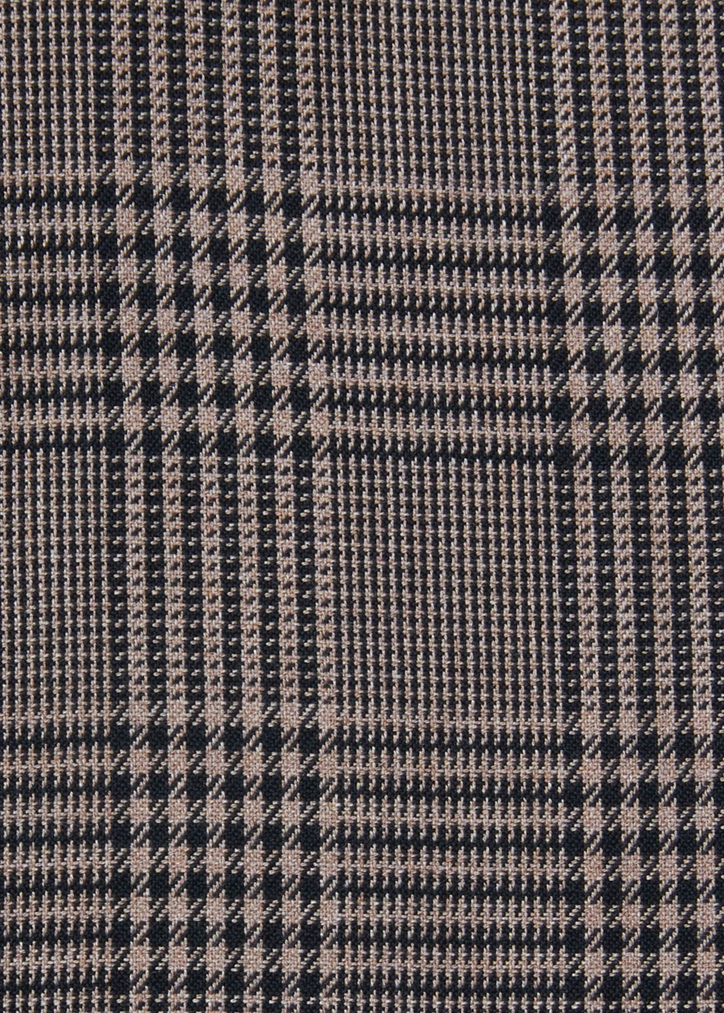 Image 2 of 2: Men's Plaid Cotton Dress Shirt