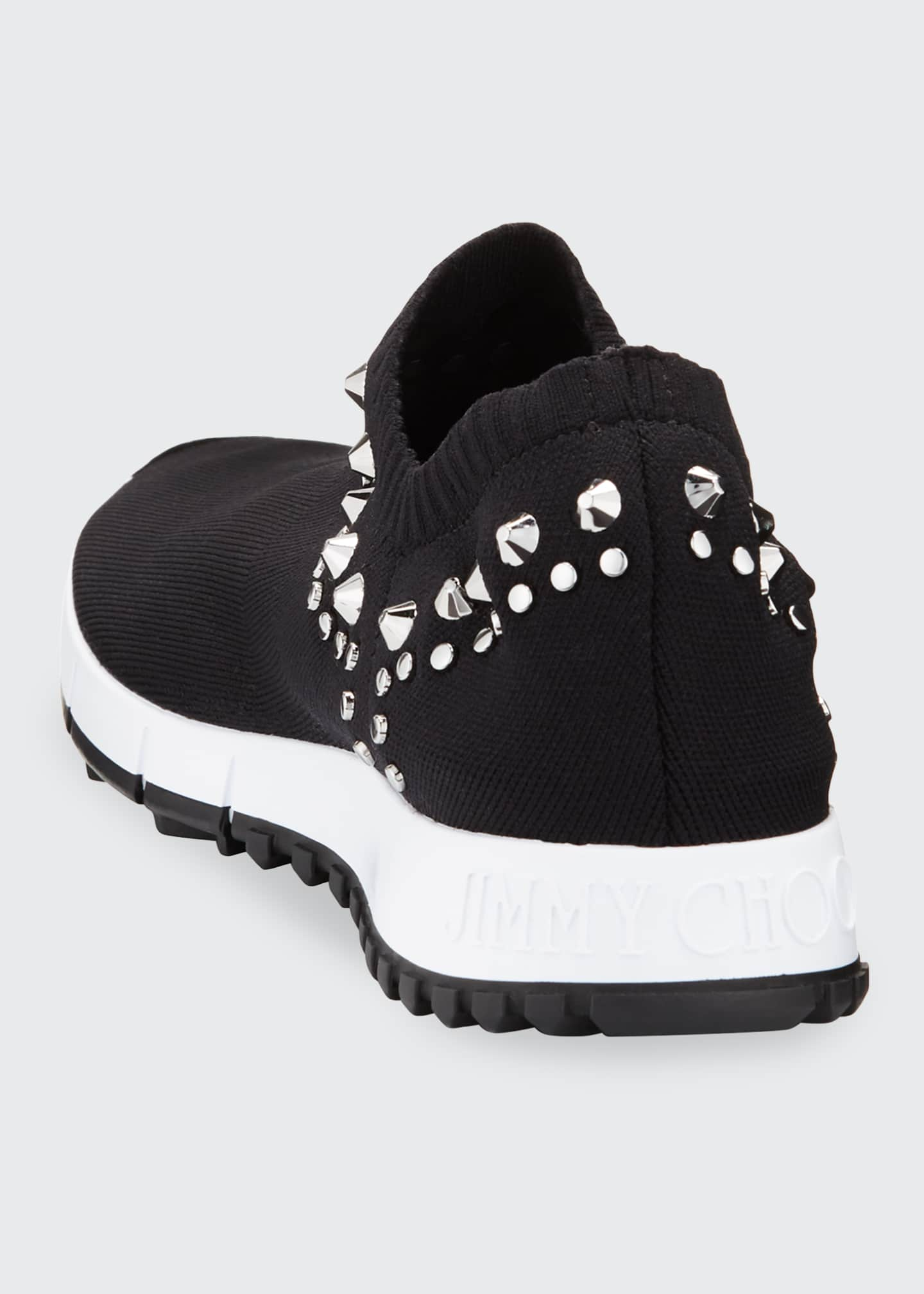Image 2 of 3: Verona Knit Stud Sneakers