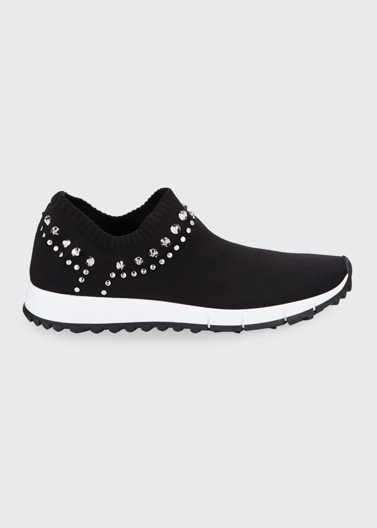 Image 1 of 3: Verona Knit Stud Sneakers