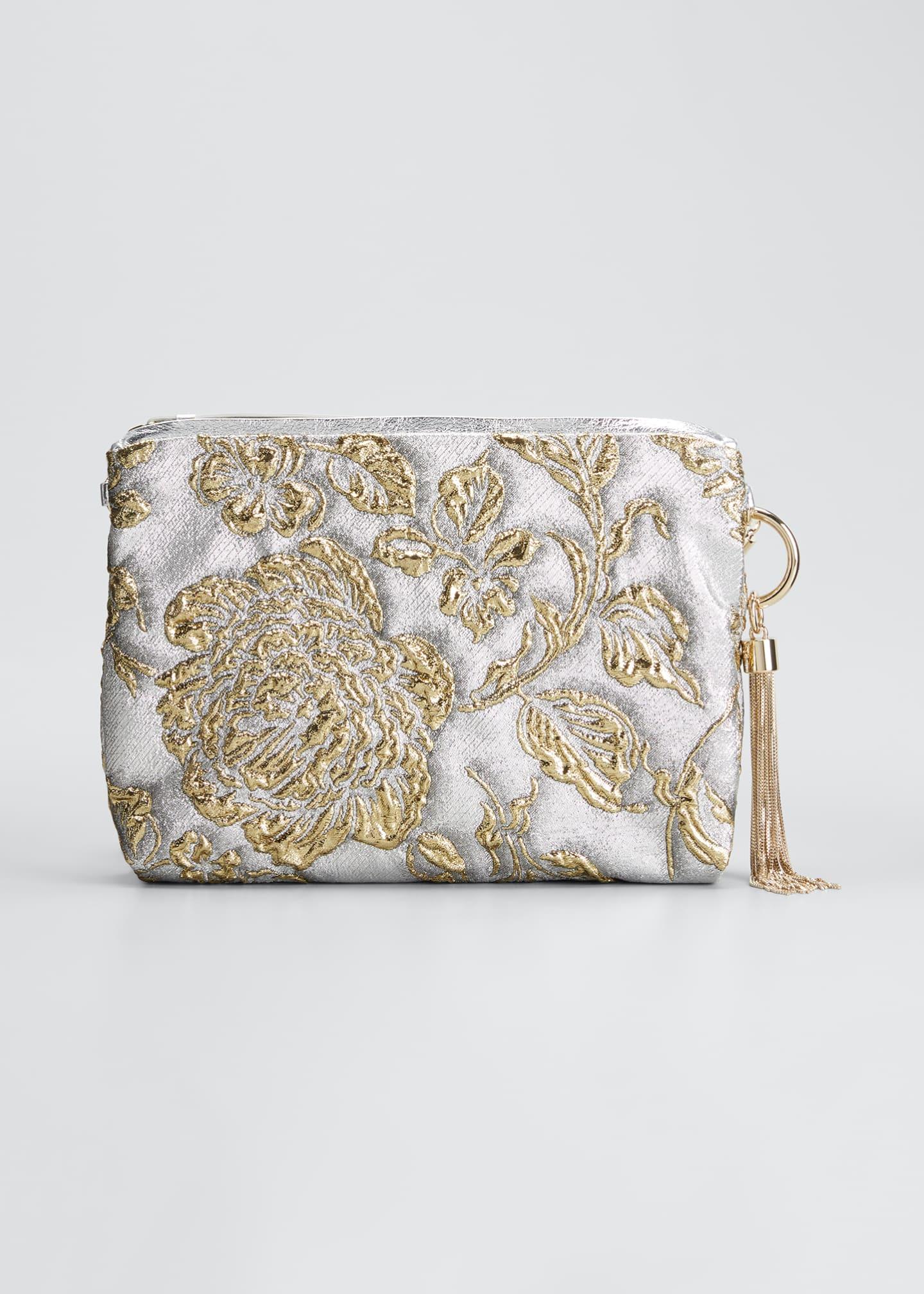 JIMMY CHOO Callie Brocade Clutch Bag