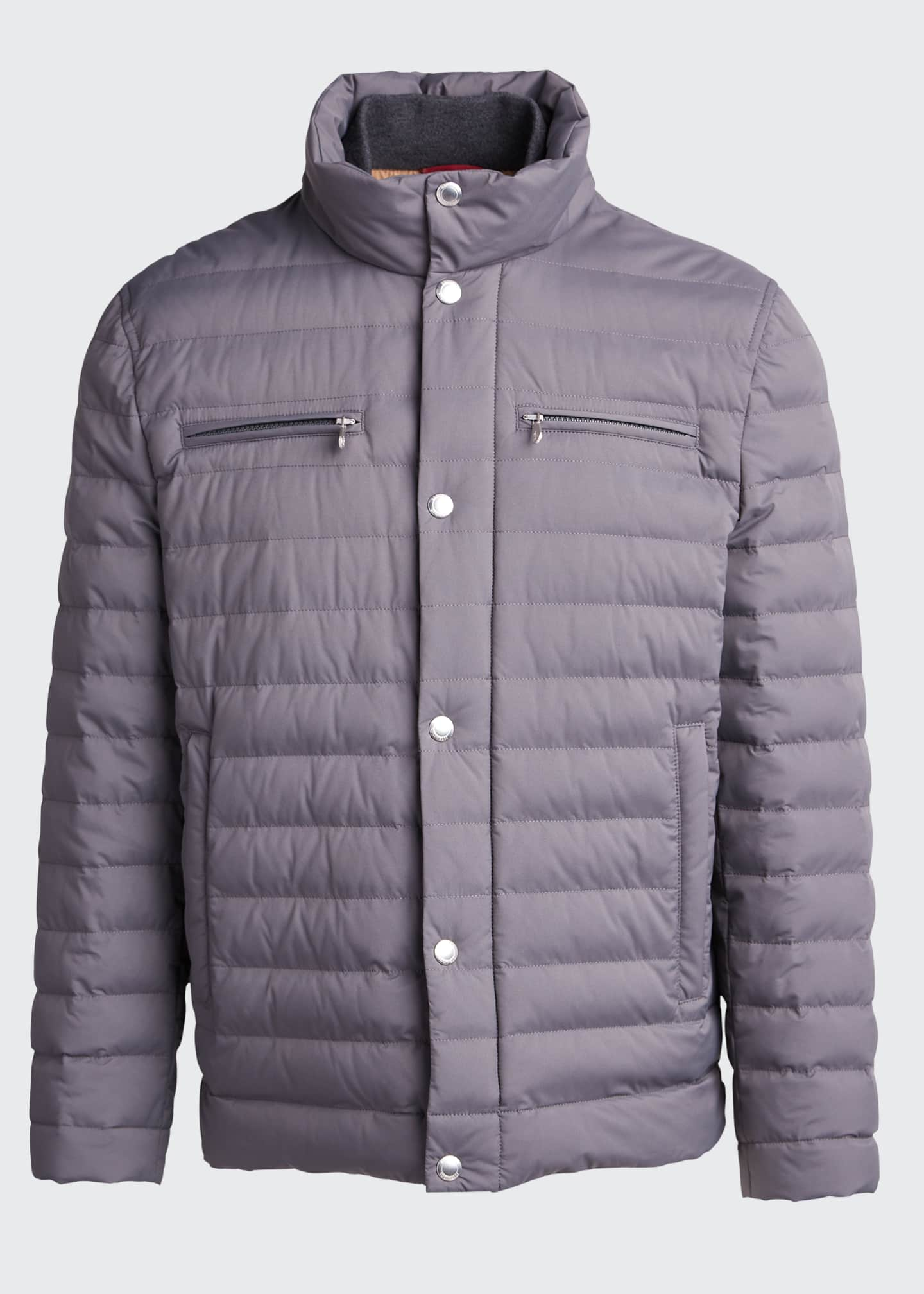 Image 5 of 5: Men's Lightweight Water-Resistant Down Jacket