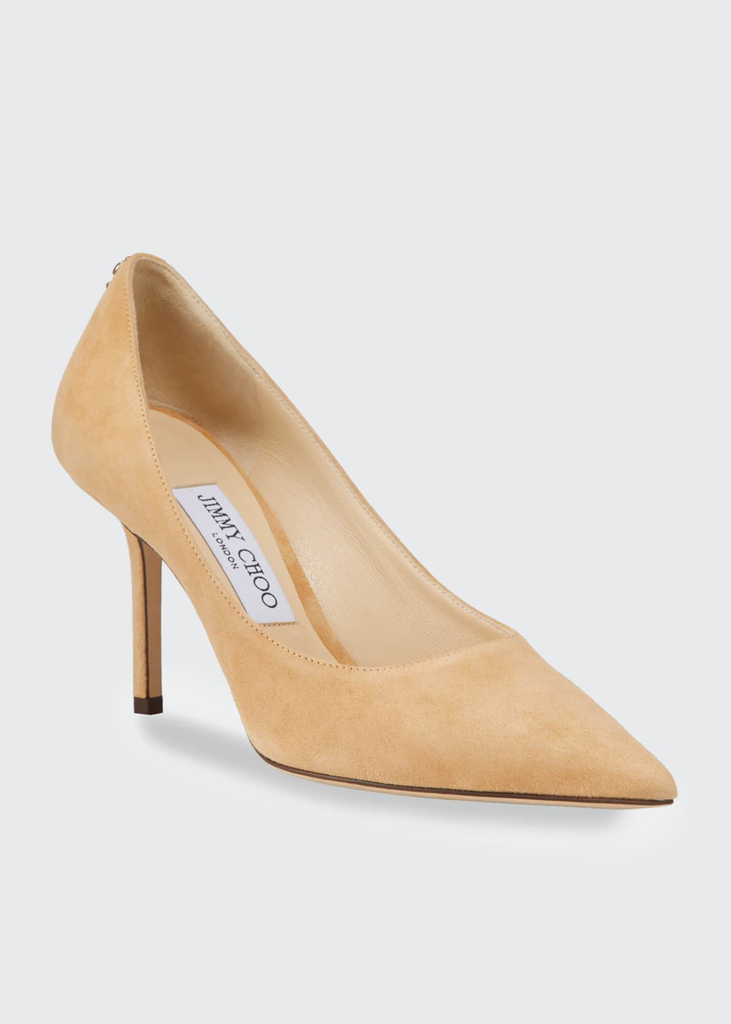 Image 2 of 4: Love Suede 85mm Pumps