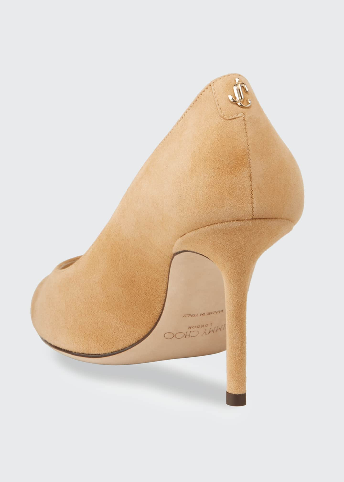 Image 3 of 4: Love Suede 85mm Pumps