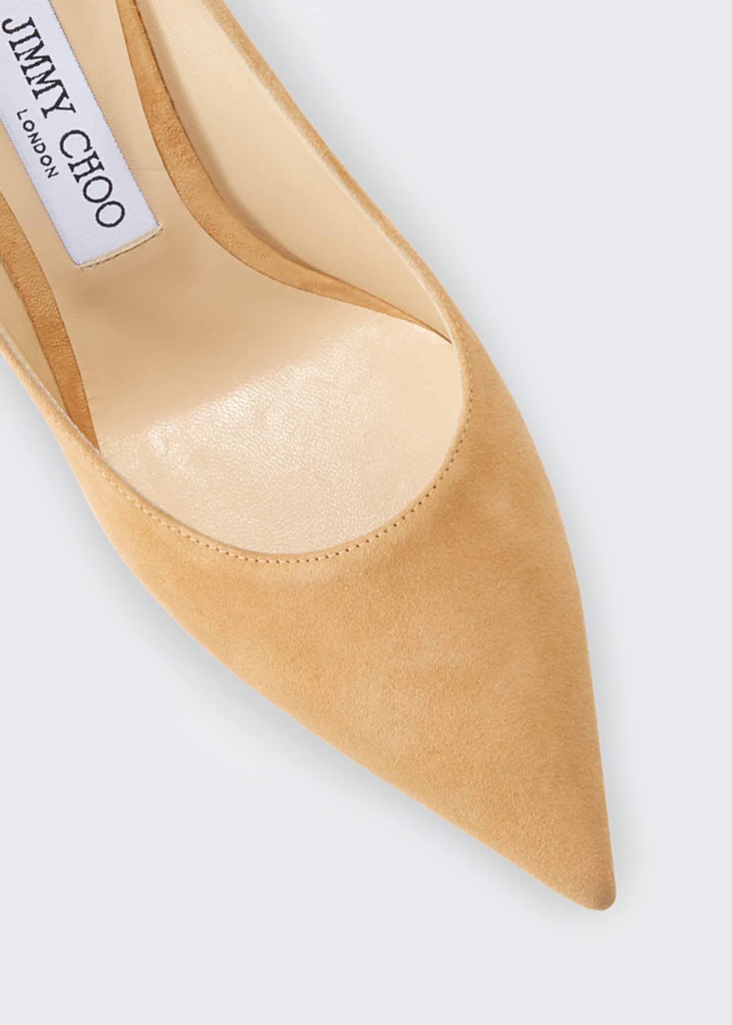 Image 4 of 4: Love Suede 85mm Pumps