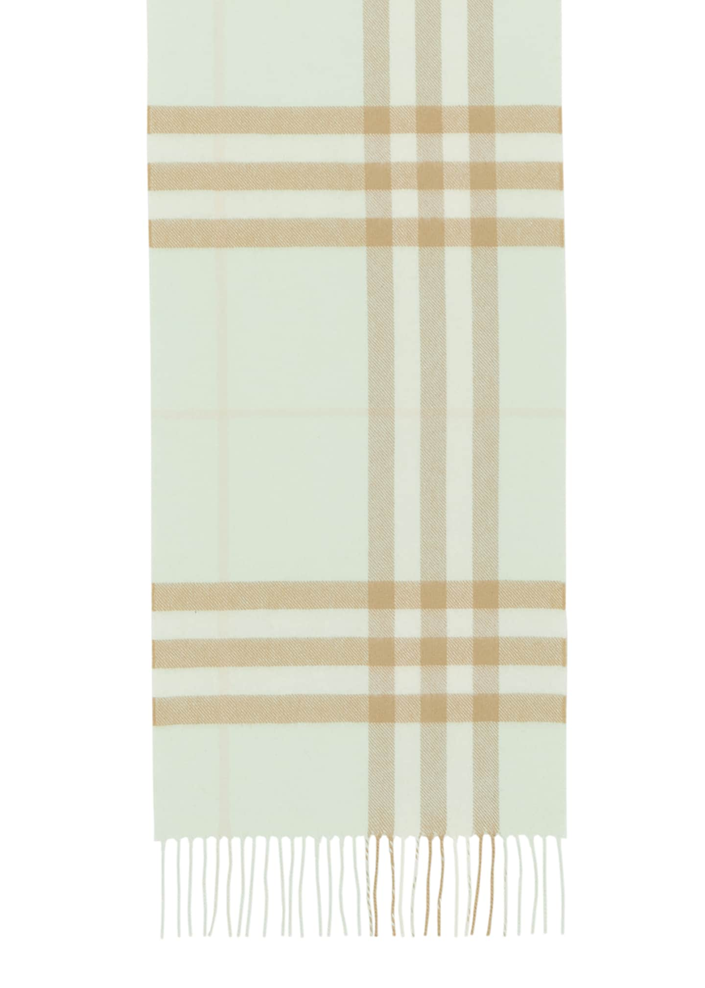 Image 3 of 4: Giant Check Cashmere Scarf