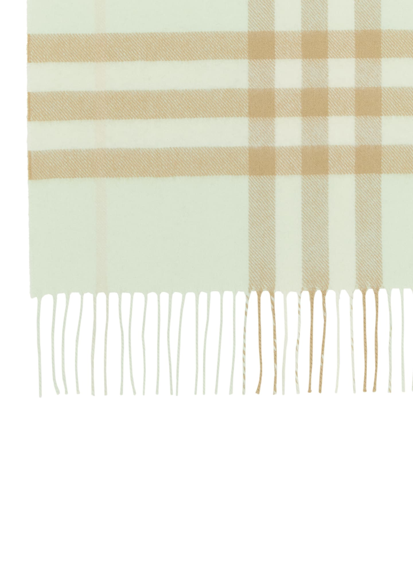 Image 4 of 4: Giant Check Cashmere Scarf