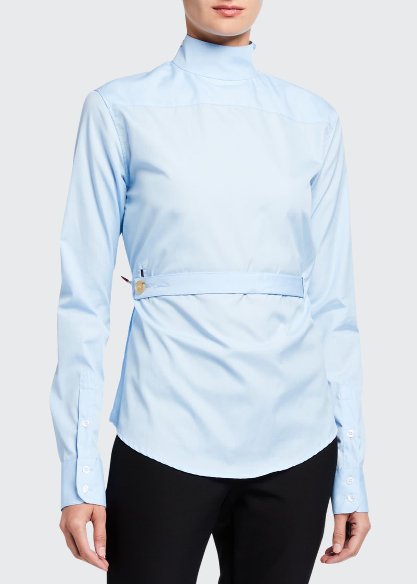 Coperni Cotton Back to Front Shirt