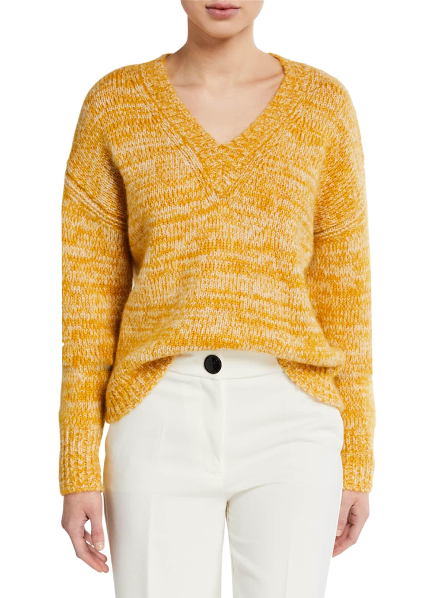Diane von Furstenberg Carmella V-Neck Sweater