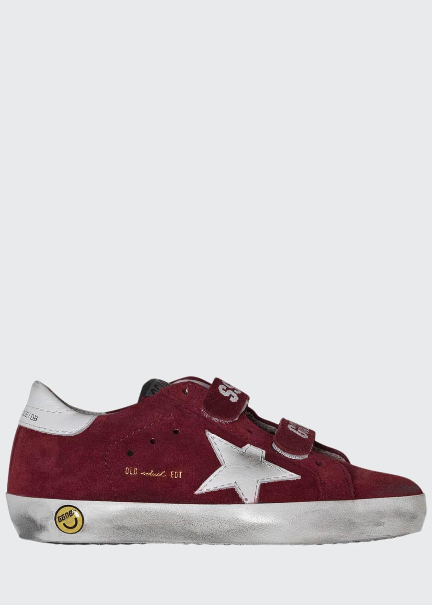 Golden Goose Boy's Old School Suede Sneakers, Toddler/Kids