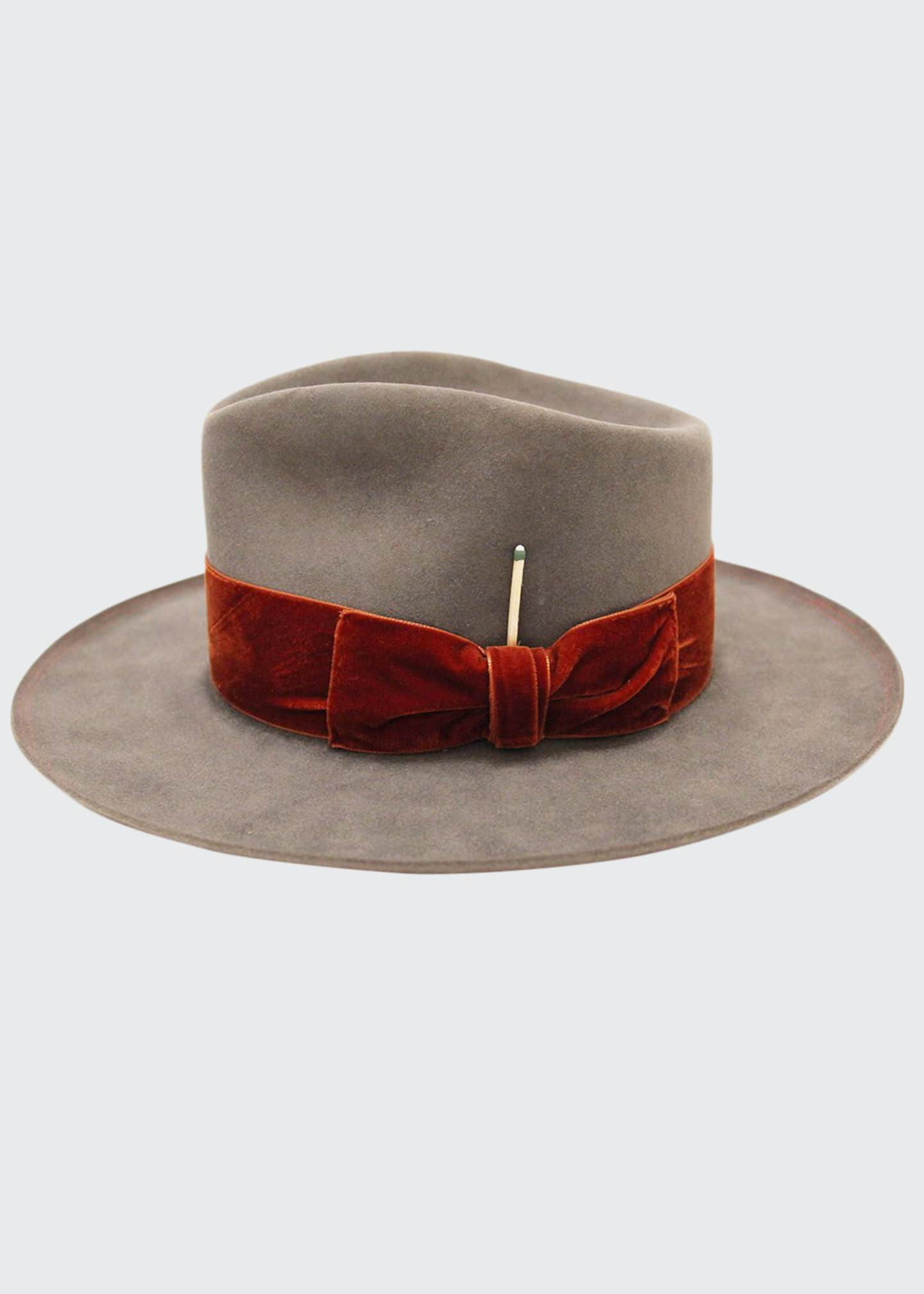 Nick Fouquet Publix Beaver Felt Fedora Hat