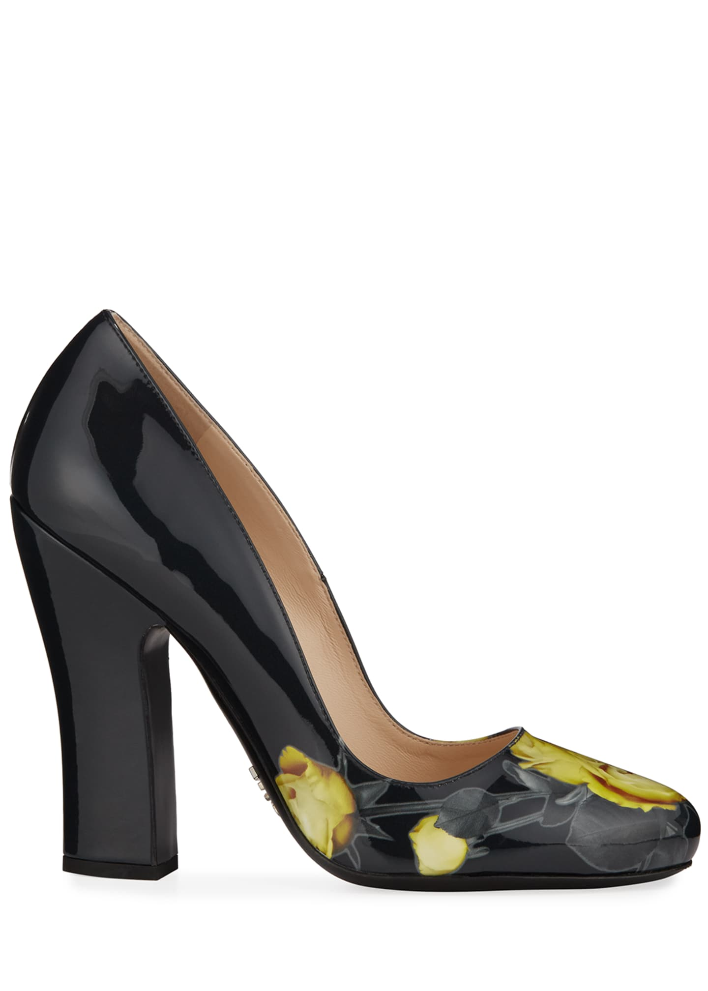Image 2 of 4: Vernice St. Beauty Roses Pumps