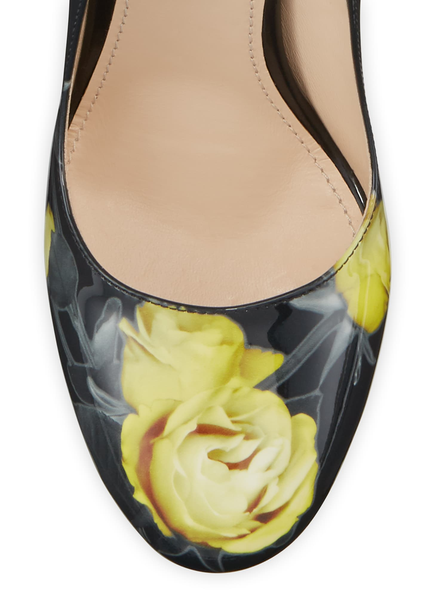 Image 3 of 4: Vernice St. Beauty Roses Pumps