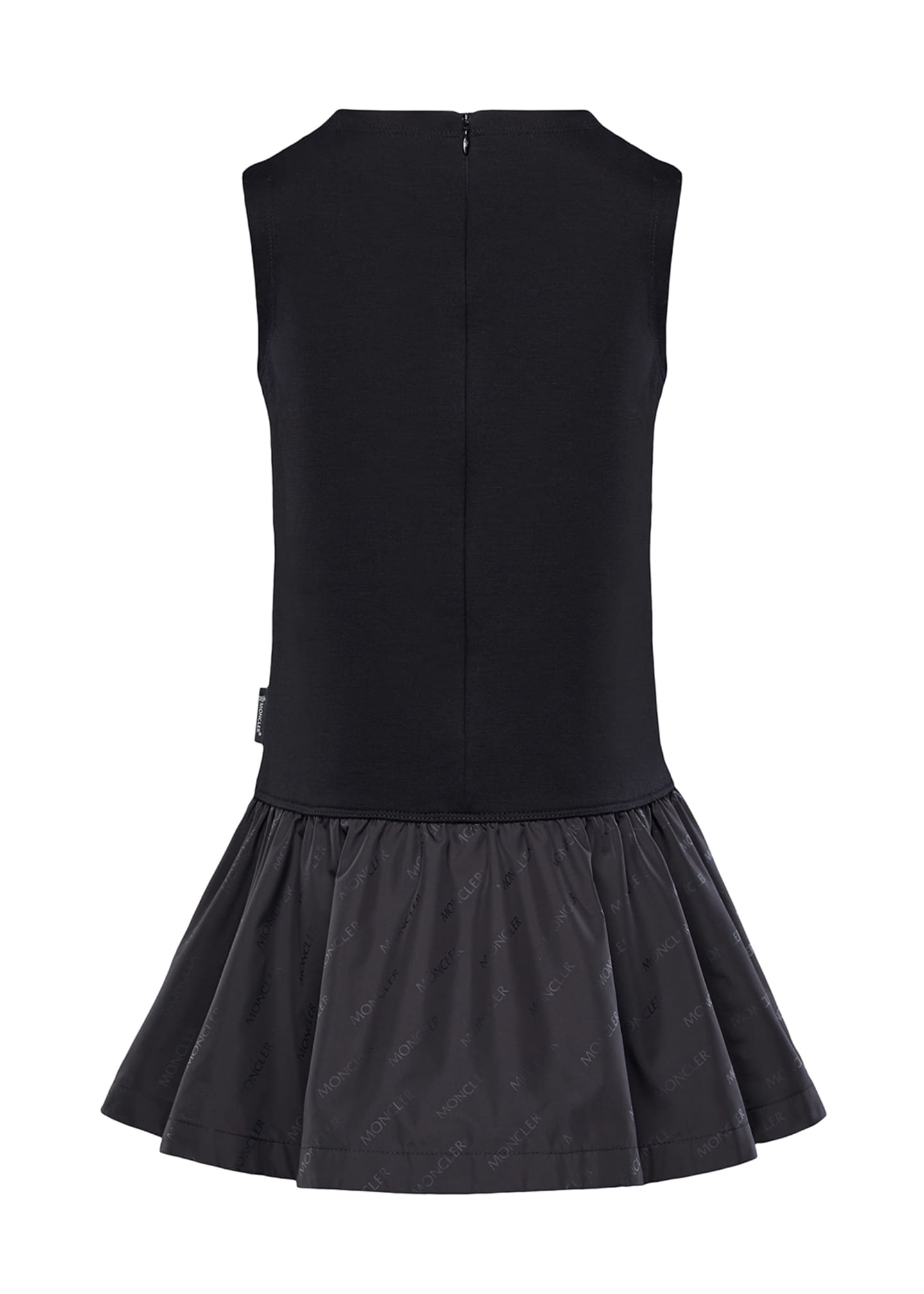 Image 2 of 2: Fit-&-Flare Logo Dress, Size 4-6