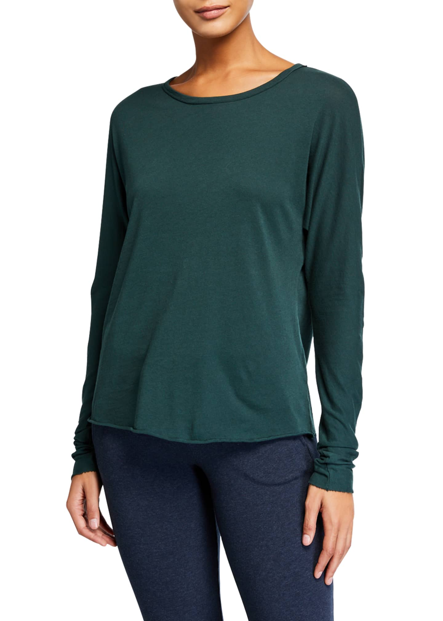 Frank & Eileen Tee Lab Continuous-Sleeve Solid Cotton