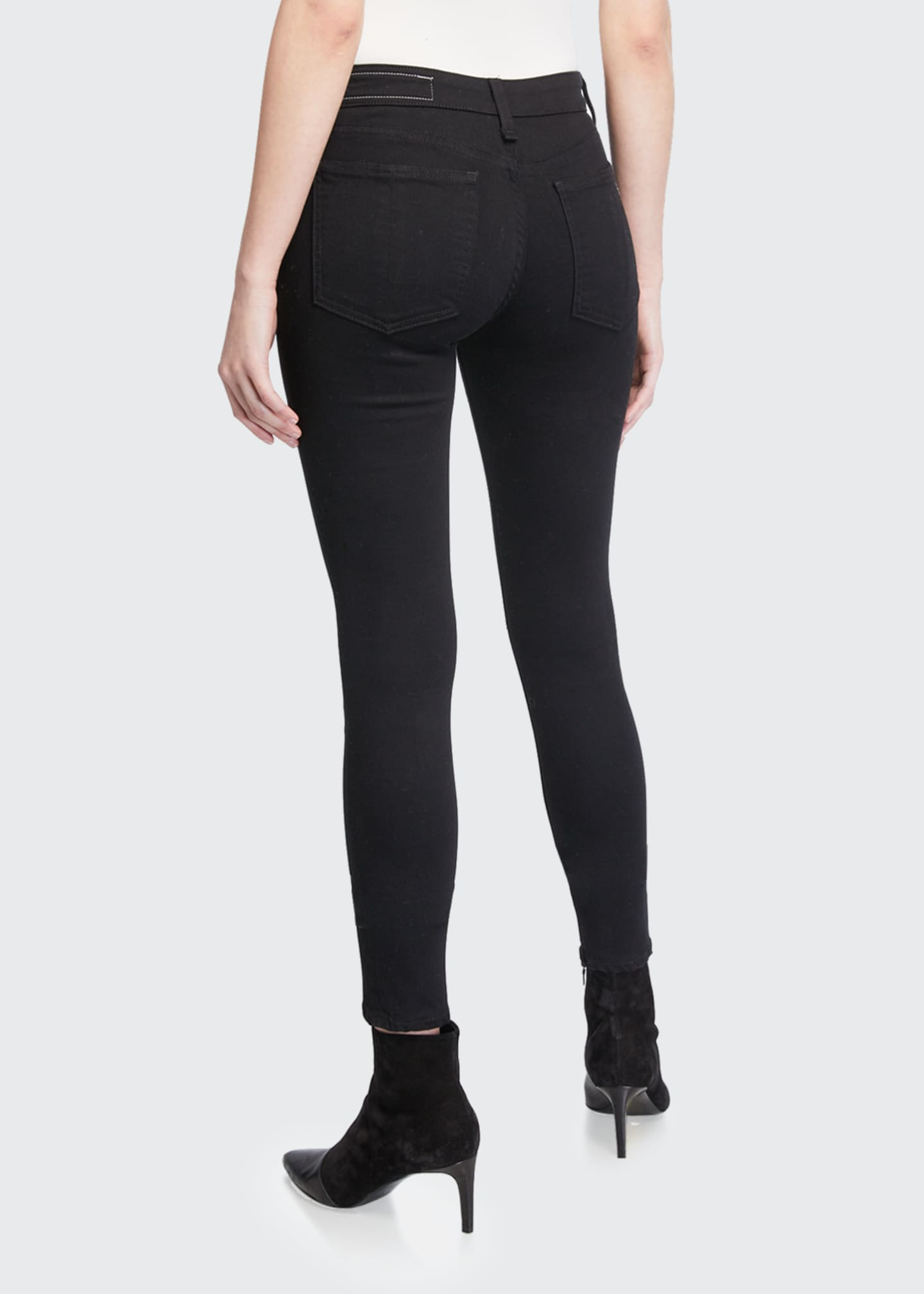 Image 2 of 3: Cate Mid-Rise Skinny Jeans