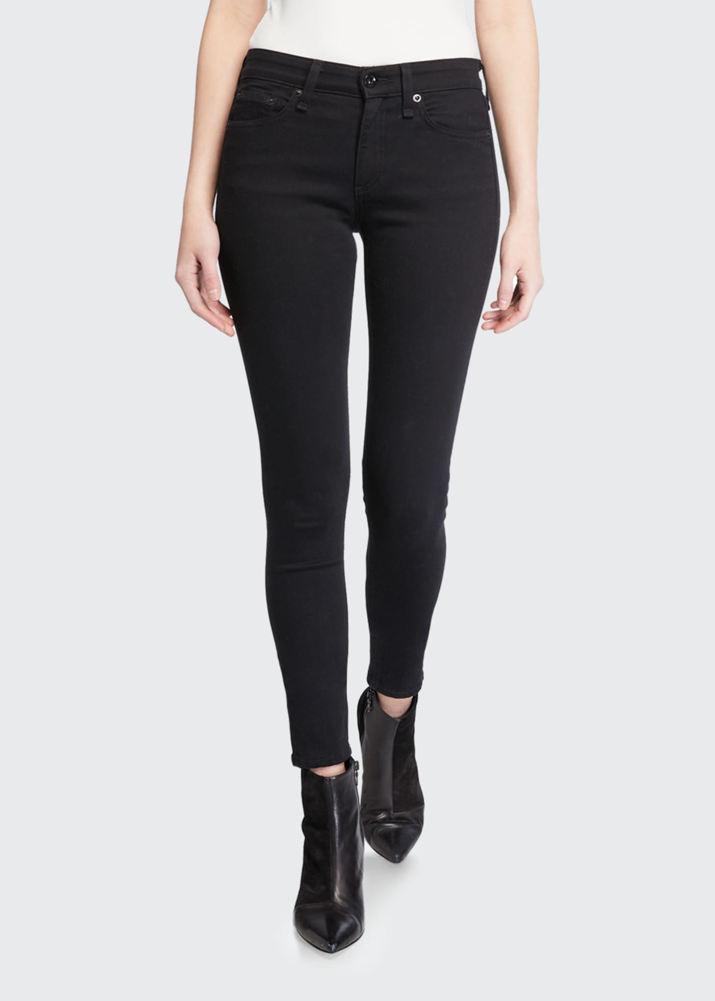 Image 3 of 3: Cate Mid-Rise Skinny Jeans
