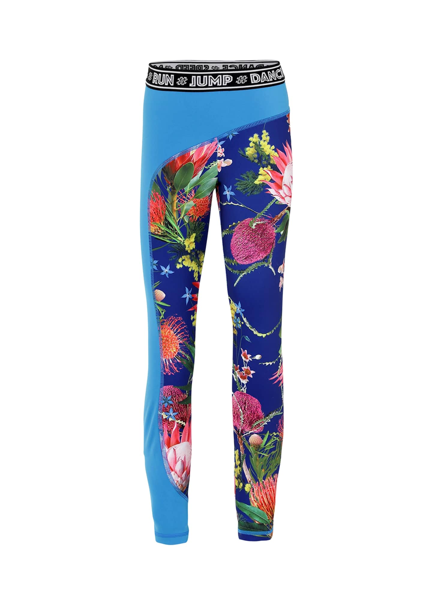 Molo Girl's Olympia Floral Print Full Length Workout