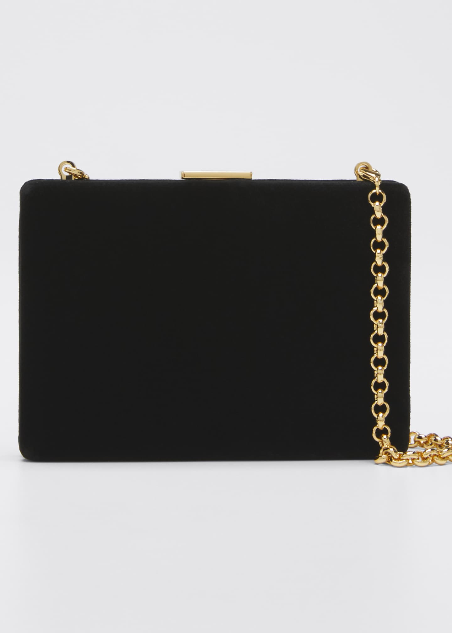 Anya Hindmarch Velvet Card Case/Wallet, Black