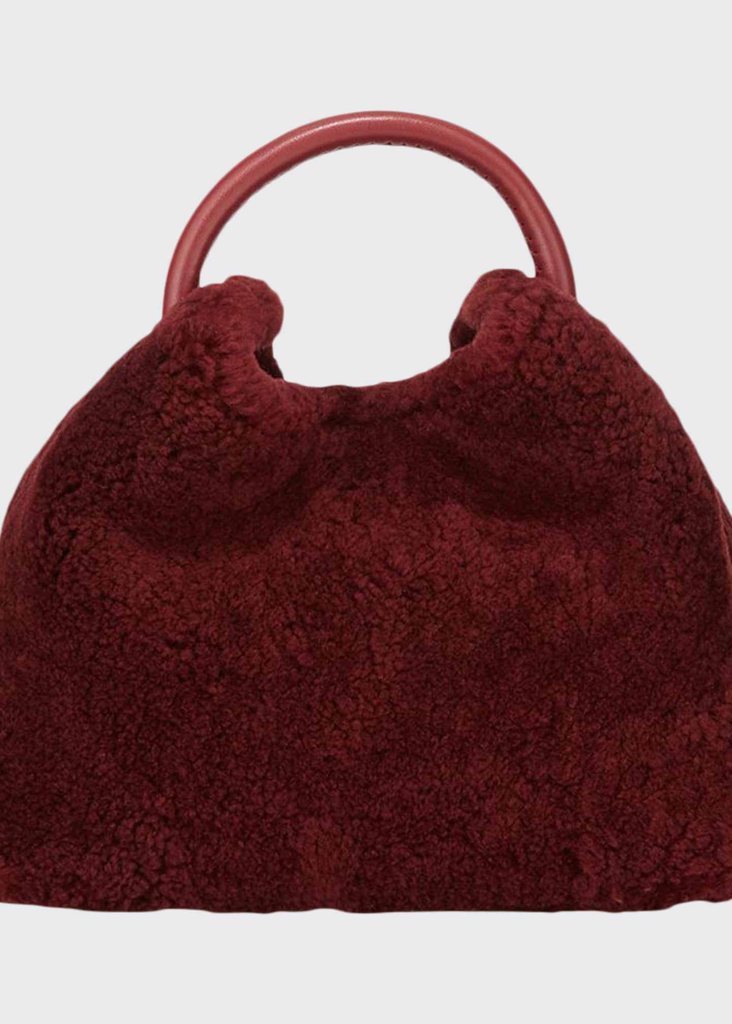 Elleme Baozi Shearling Bucket Bag