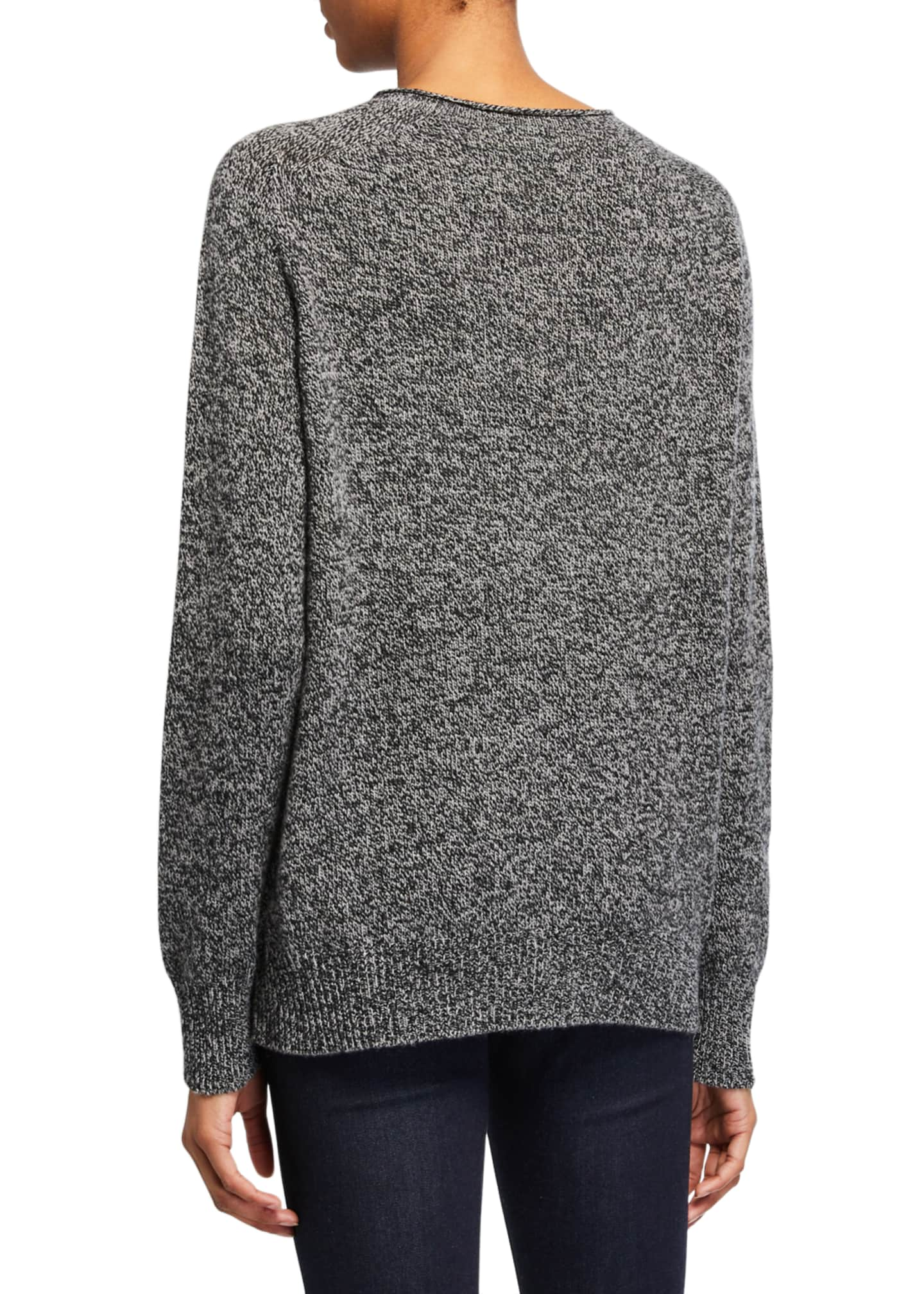 Image 2 of 2: Elena Seamless Cashmere Pullover Sweater