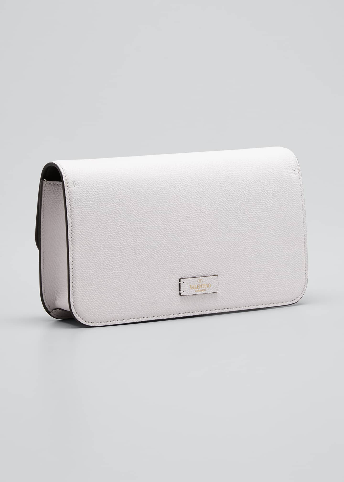 Image 3 of 5: VSLING Grain Calf Clutch Bag