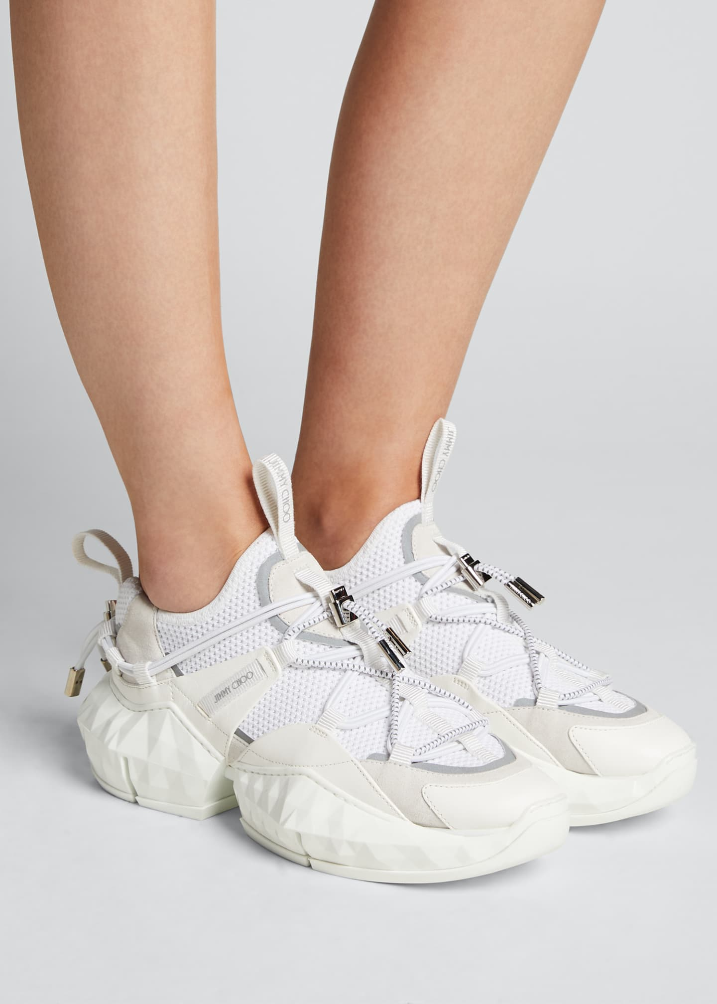 Image 2 of 5: Diamond Trail Chunky Sneakers