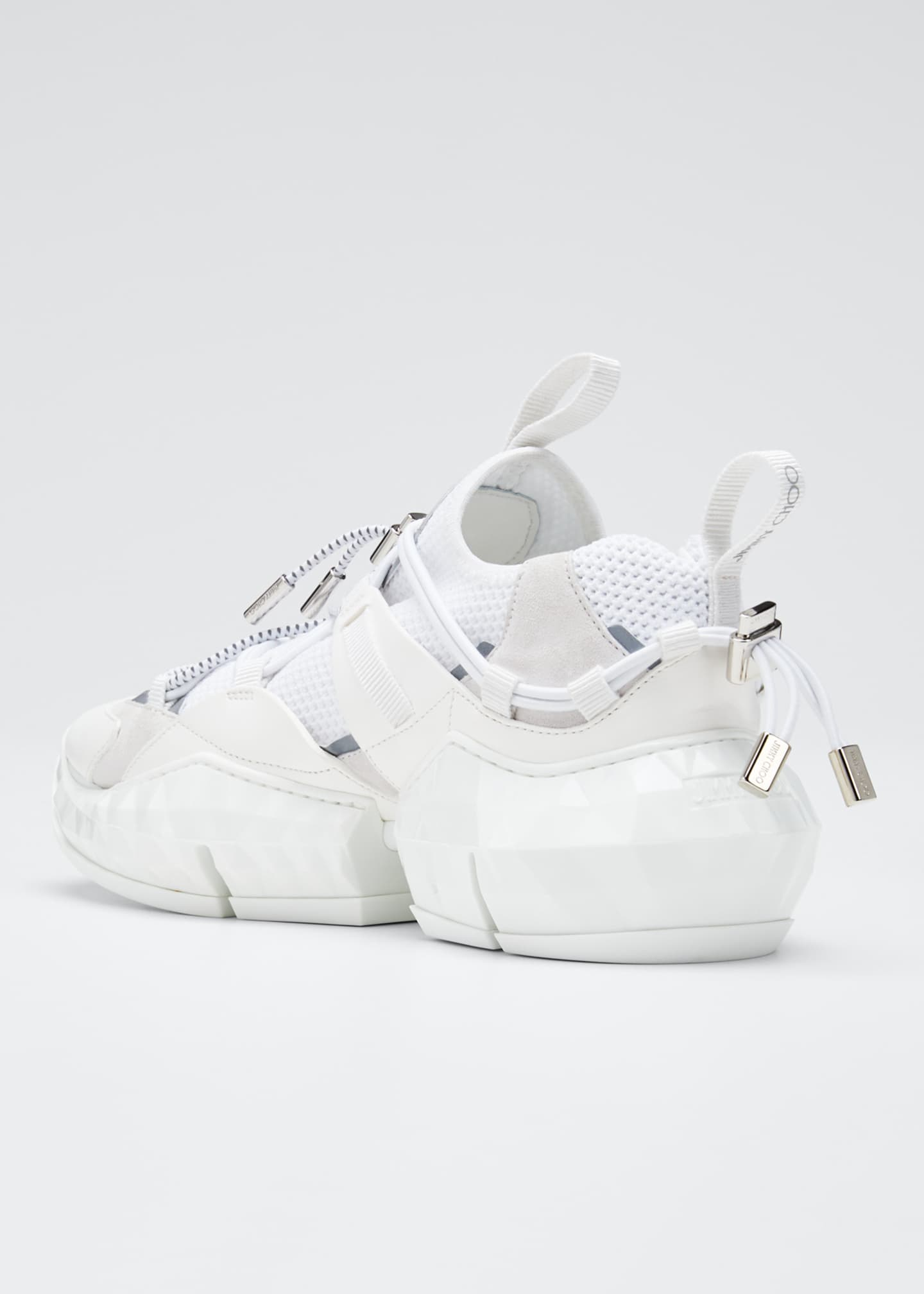 Image 4 of 5: Diamond Trail Chunky Sneakers
