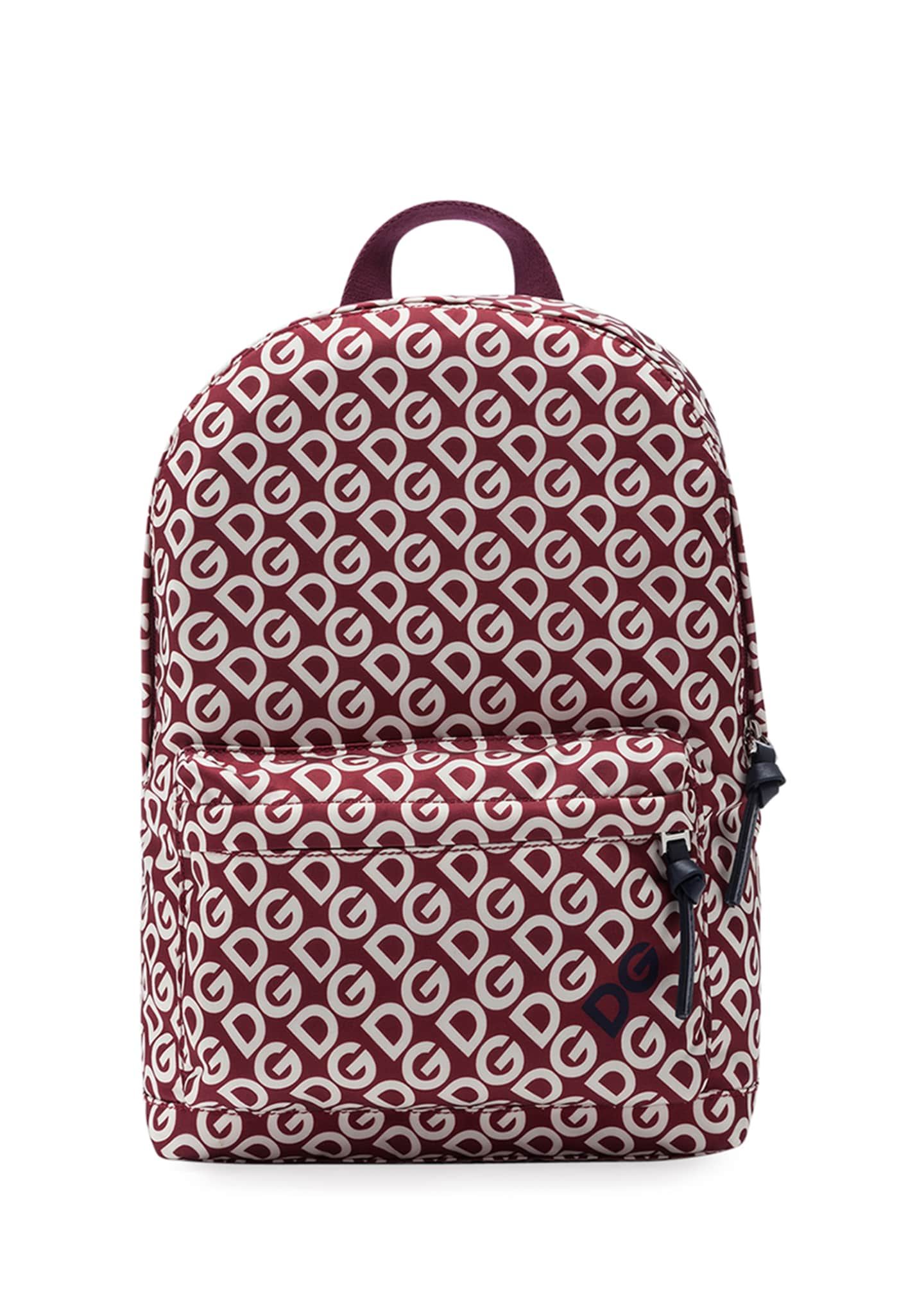 Dolce & Gabbana Kid's DG Print Backpack