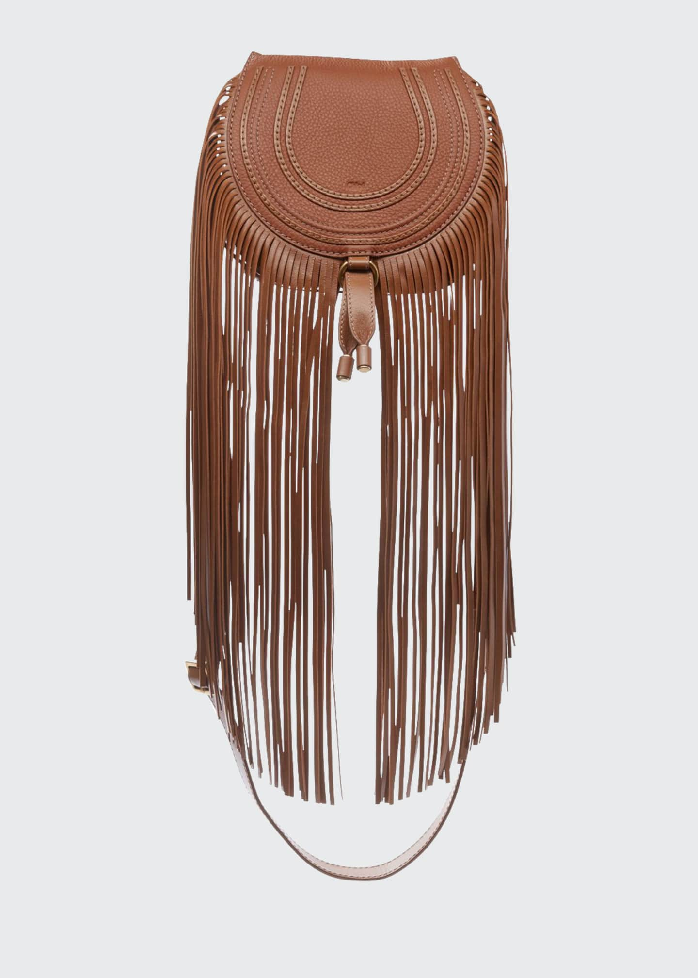 Chloe Marcie Small Crossbody Fringe Bag