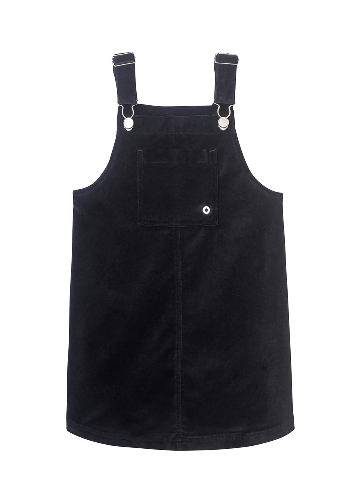 DL1961 Premium Denim Girl's Penelope Pinafore Dress, Size