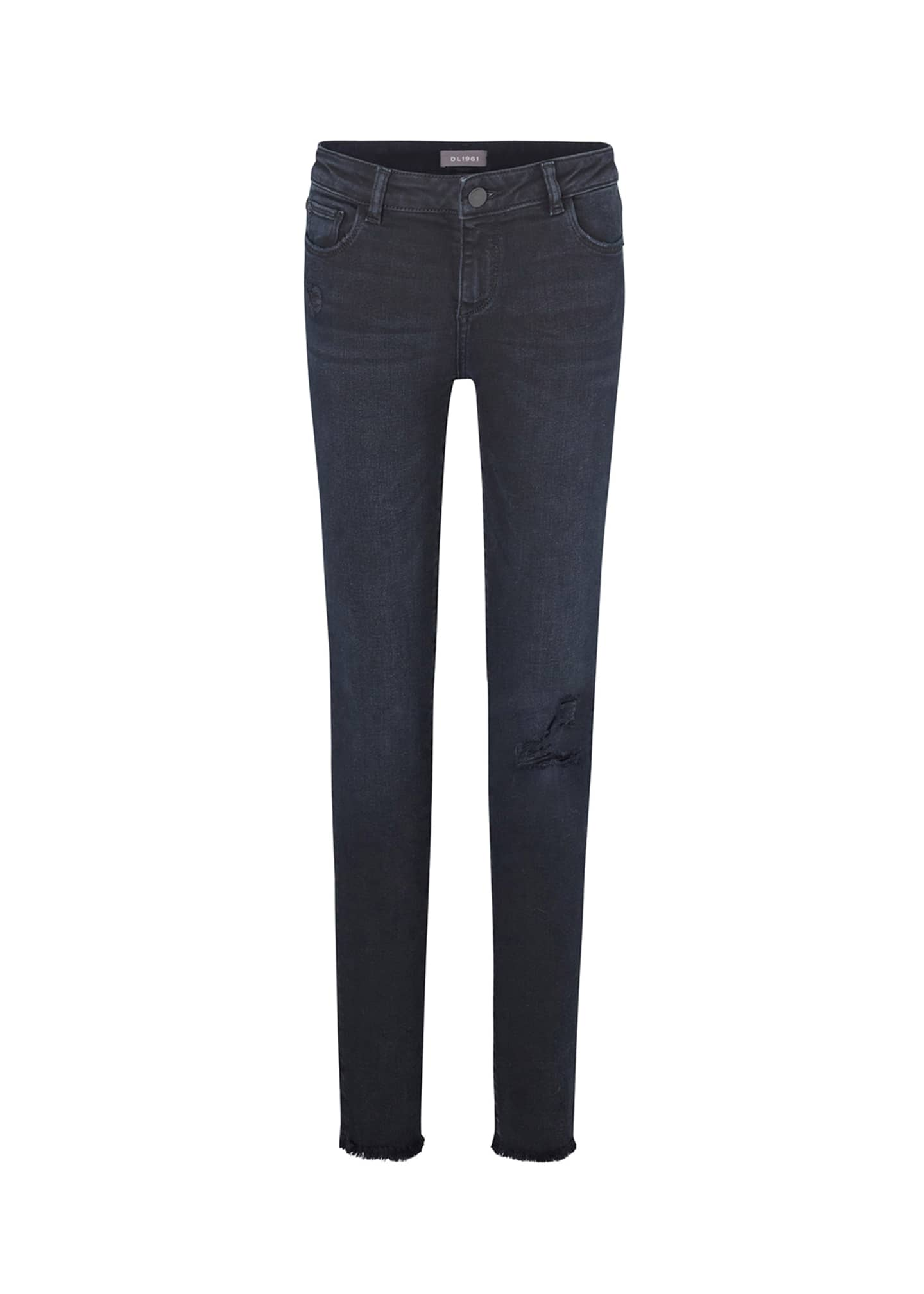 DL1961 Premium Denim Girl's Chloe Skinny Distressed Denim