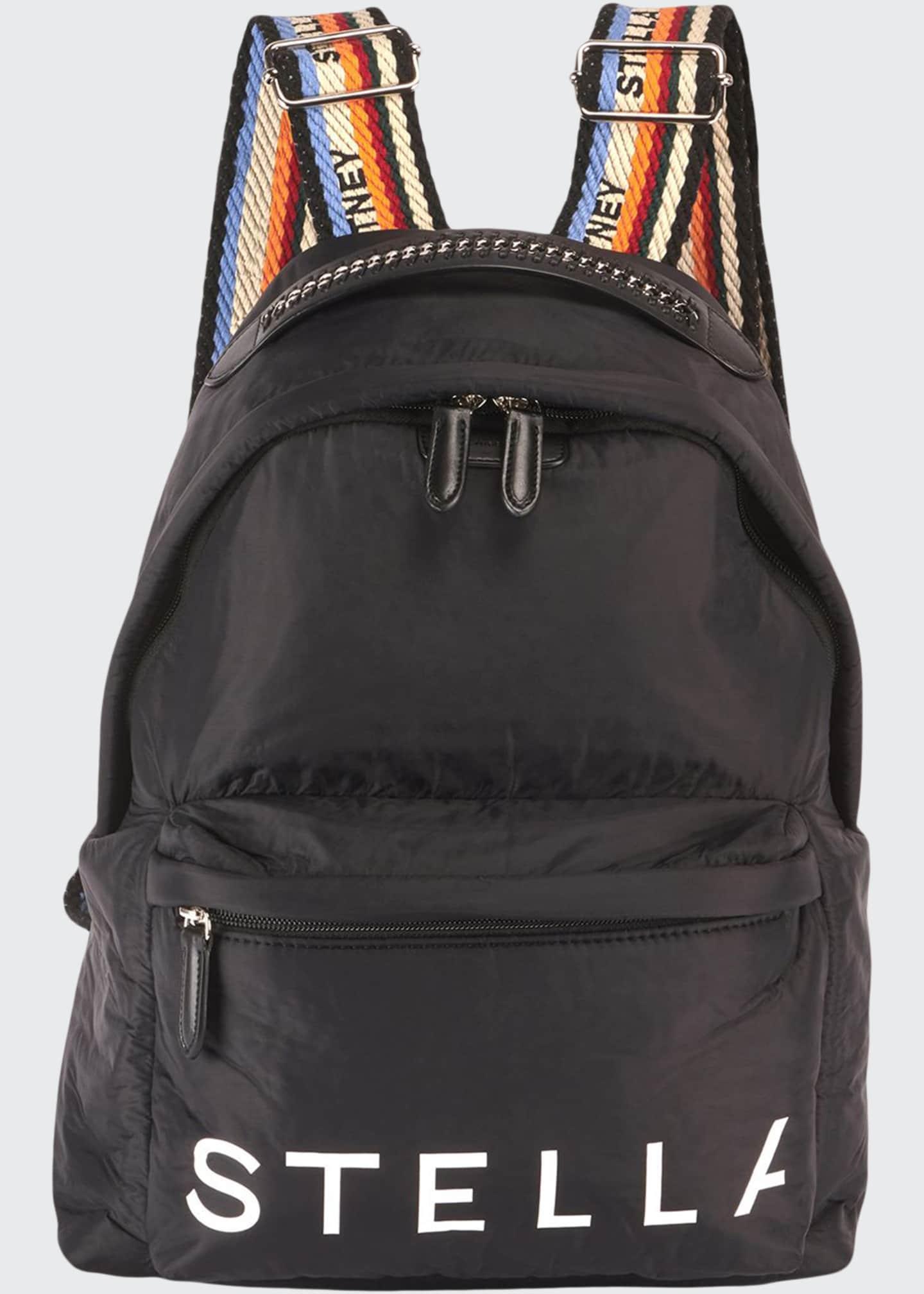 Stella McCartney Stella Logo Eco Padded Backpack